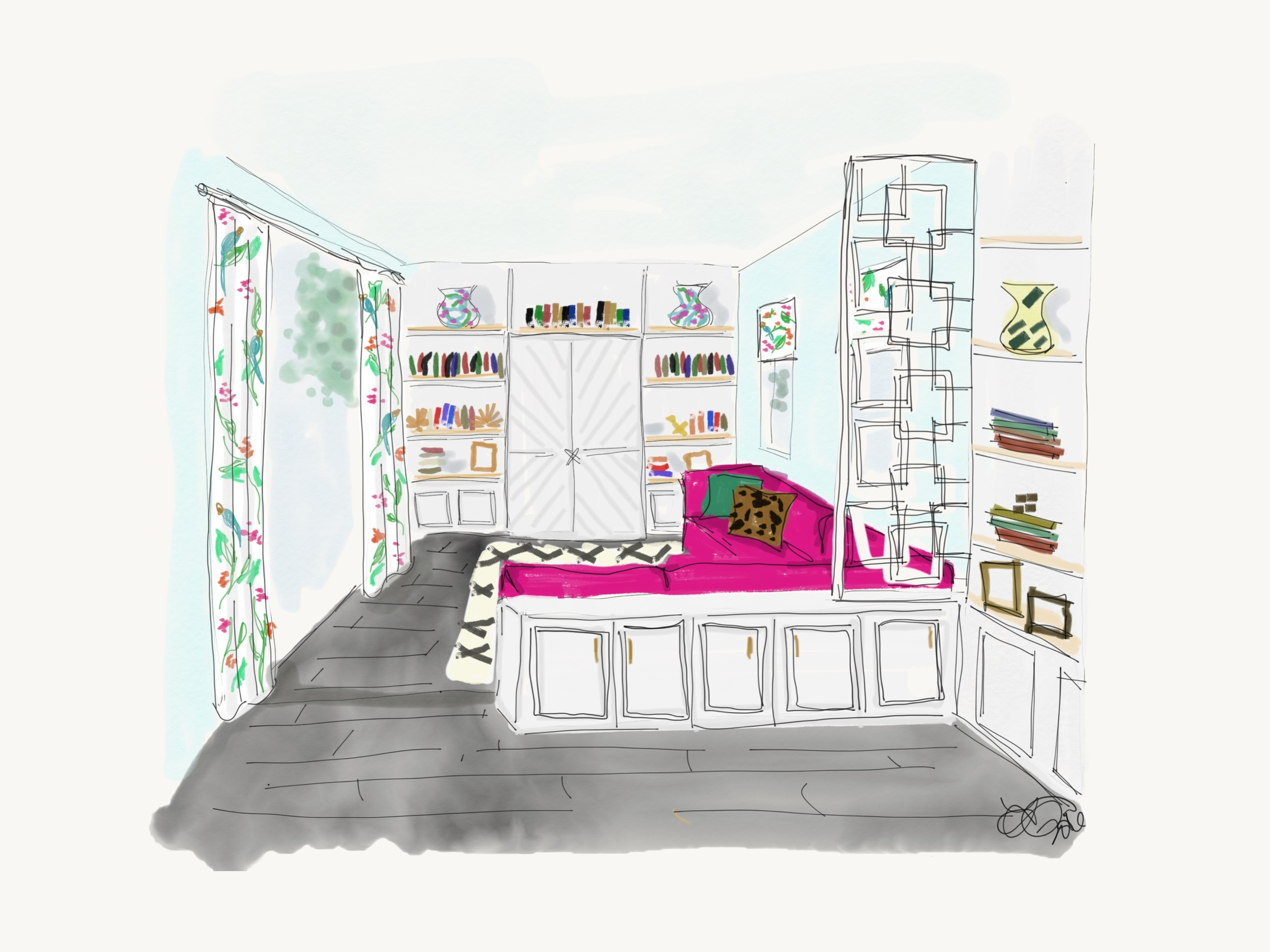 leopardprint_interiordesign_familyroom_lisagilmoredesign