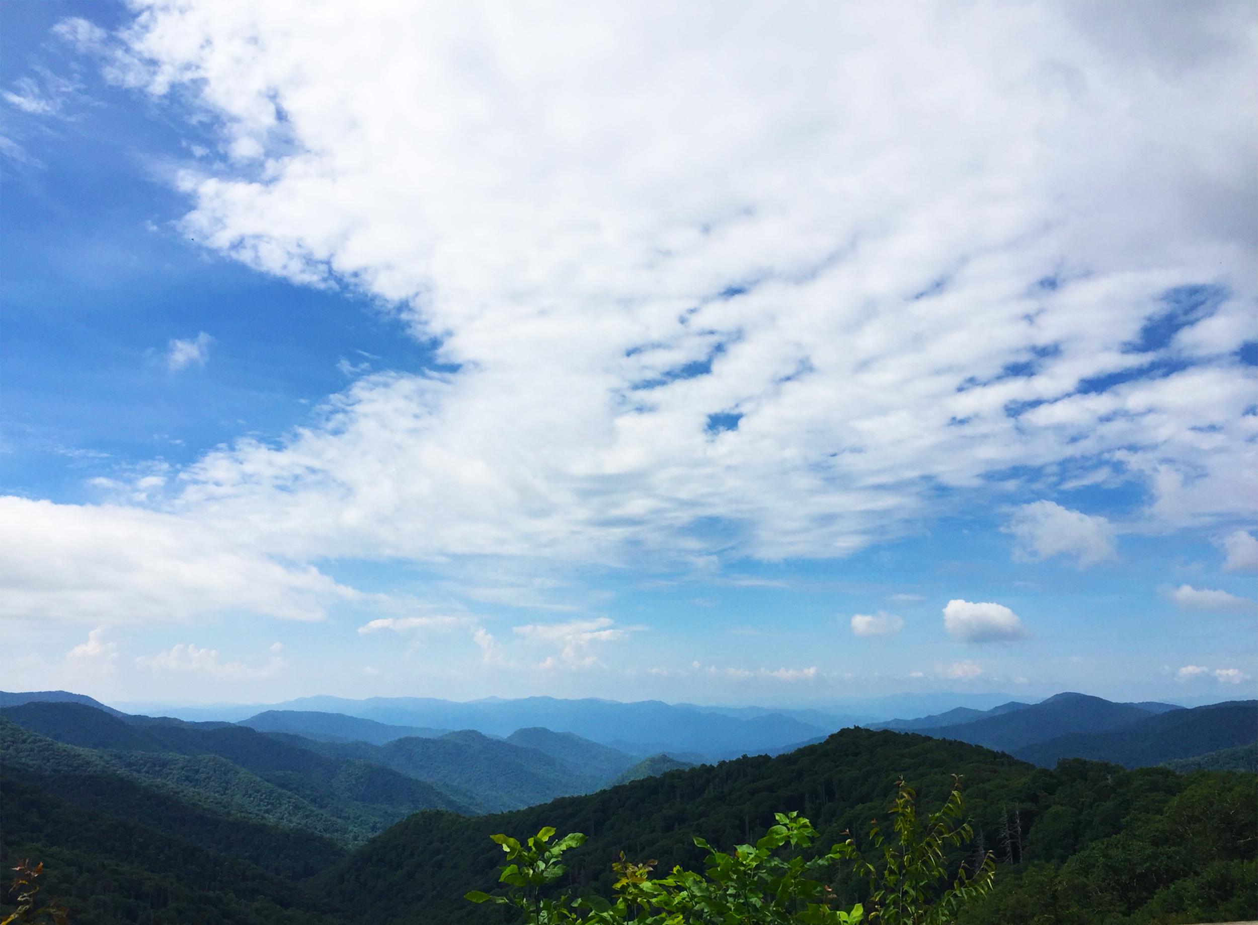 lisagilmoredesign. smokey mountain views. 1