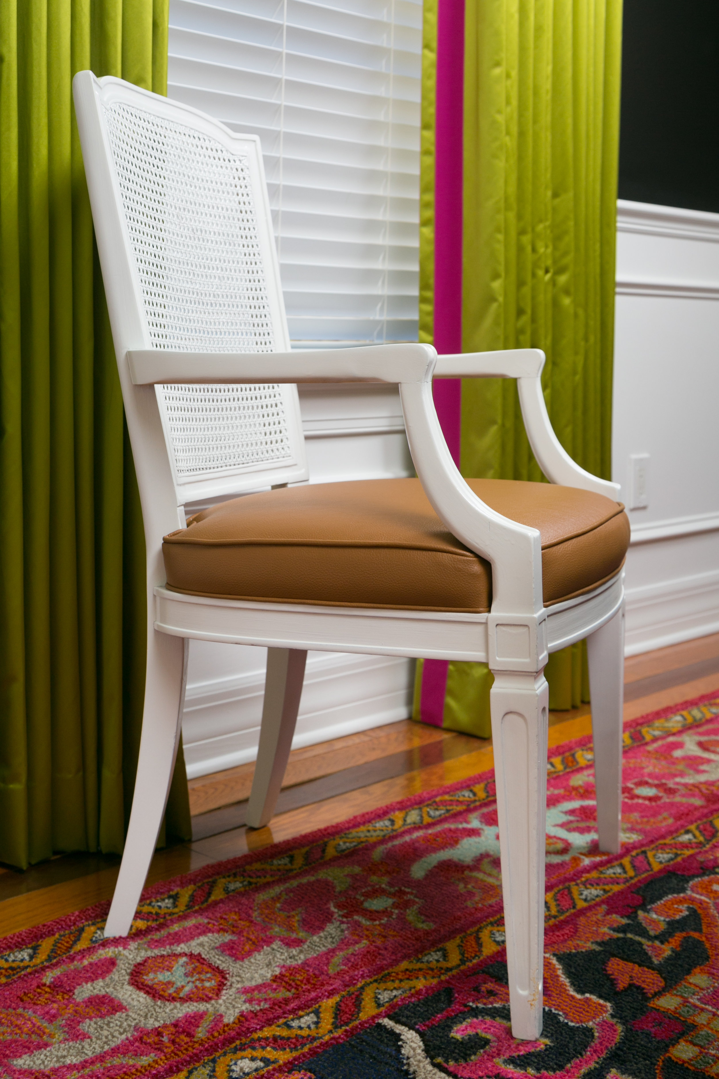 repurposed vintage dining chair - lisa gilmore design