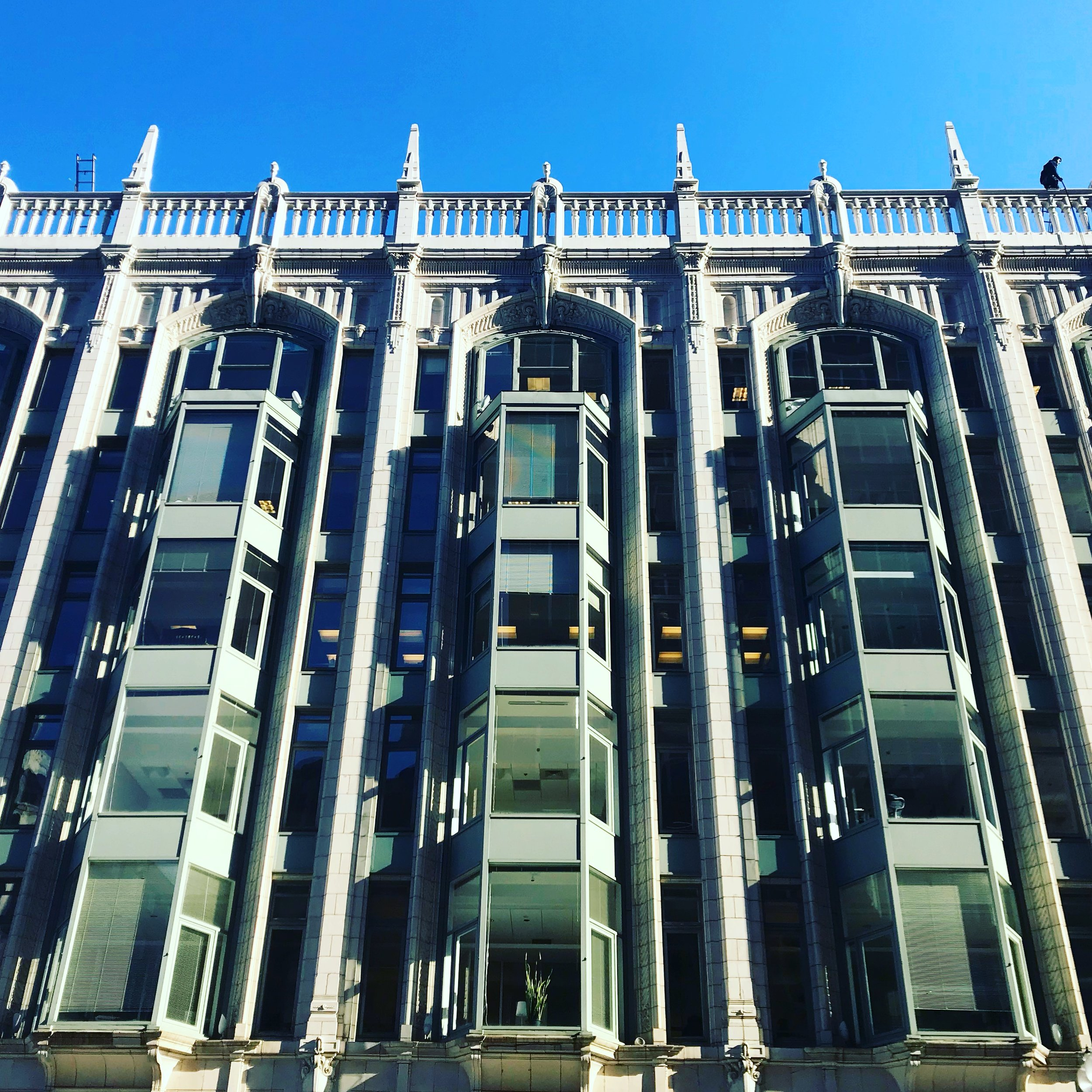 Art Deco inspired building in Boston's Financial District, LGD Team (Crystina Castiglione Photography).