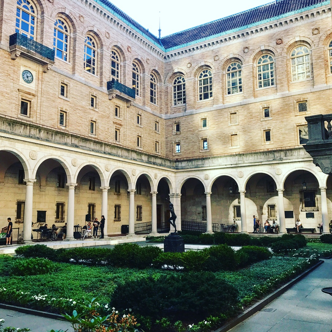 Interior Renaissance inspired courtyard of the Boston Public Library, LGD Team (Crystina Castiglione Photography).