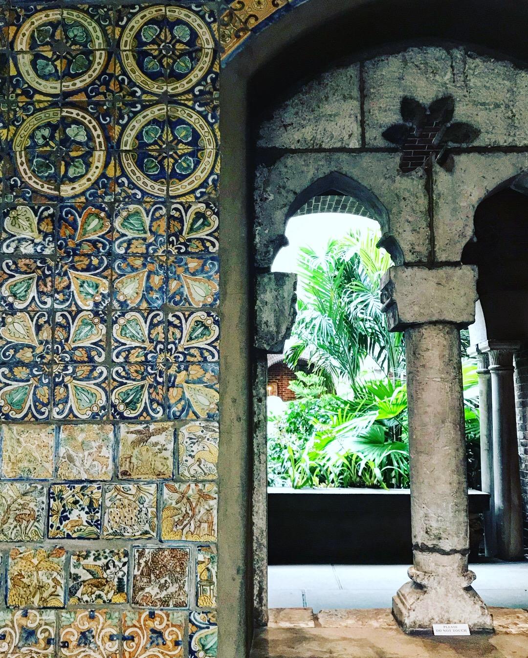 Isabella Stewart Gardner Estate interior tile detail, LGD Team (Crystina Castiglione Photography).