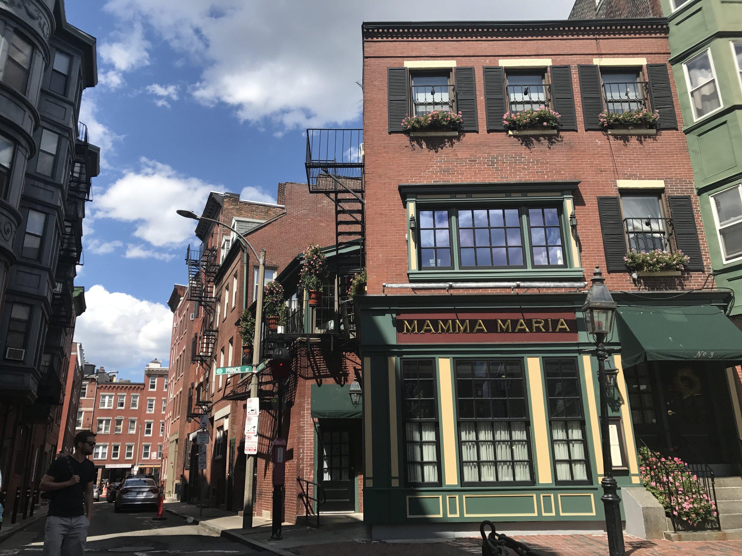 Boston's Italian North End district, LGD Team (Crystina Castiglione Photography).