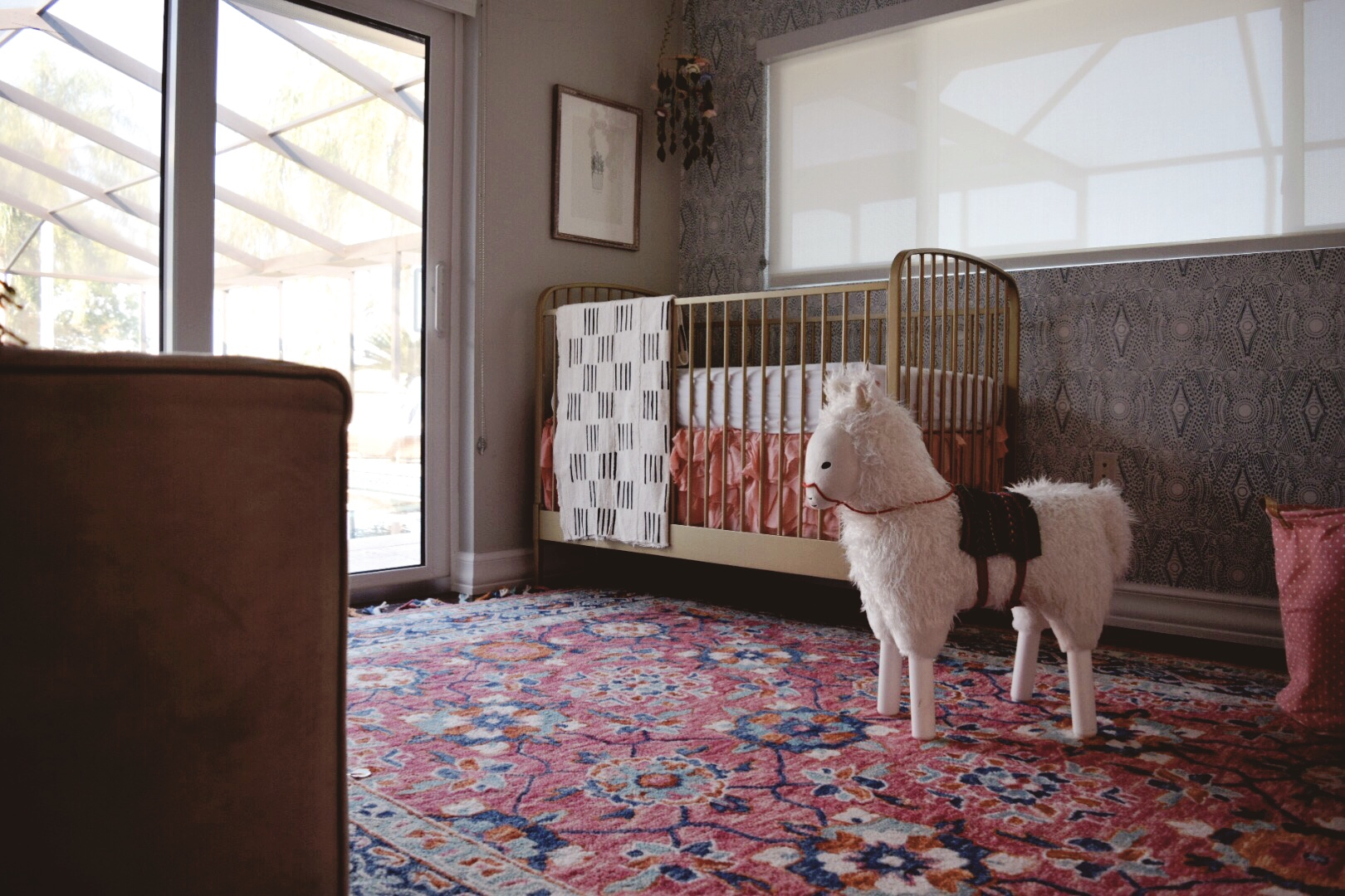 Whimsical Bohemian Nursery by Lisa Gilmore Design