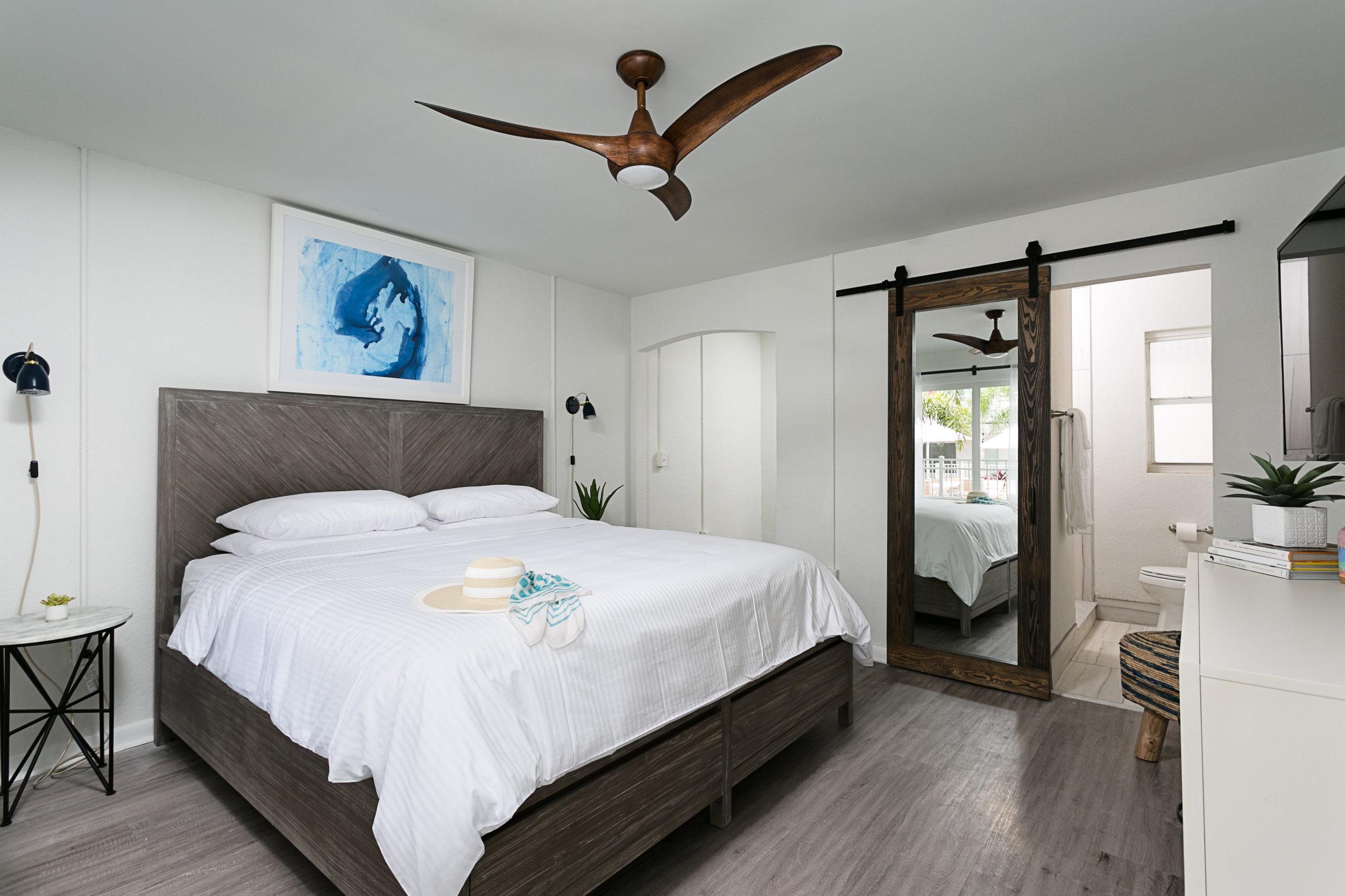 Medium tone faux wood_luxury vinyl tile_hotel cabana clearwater beach