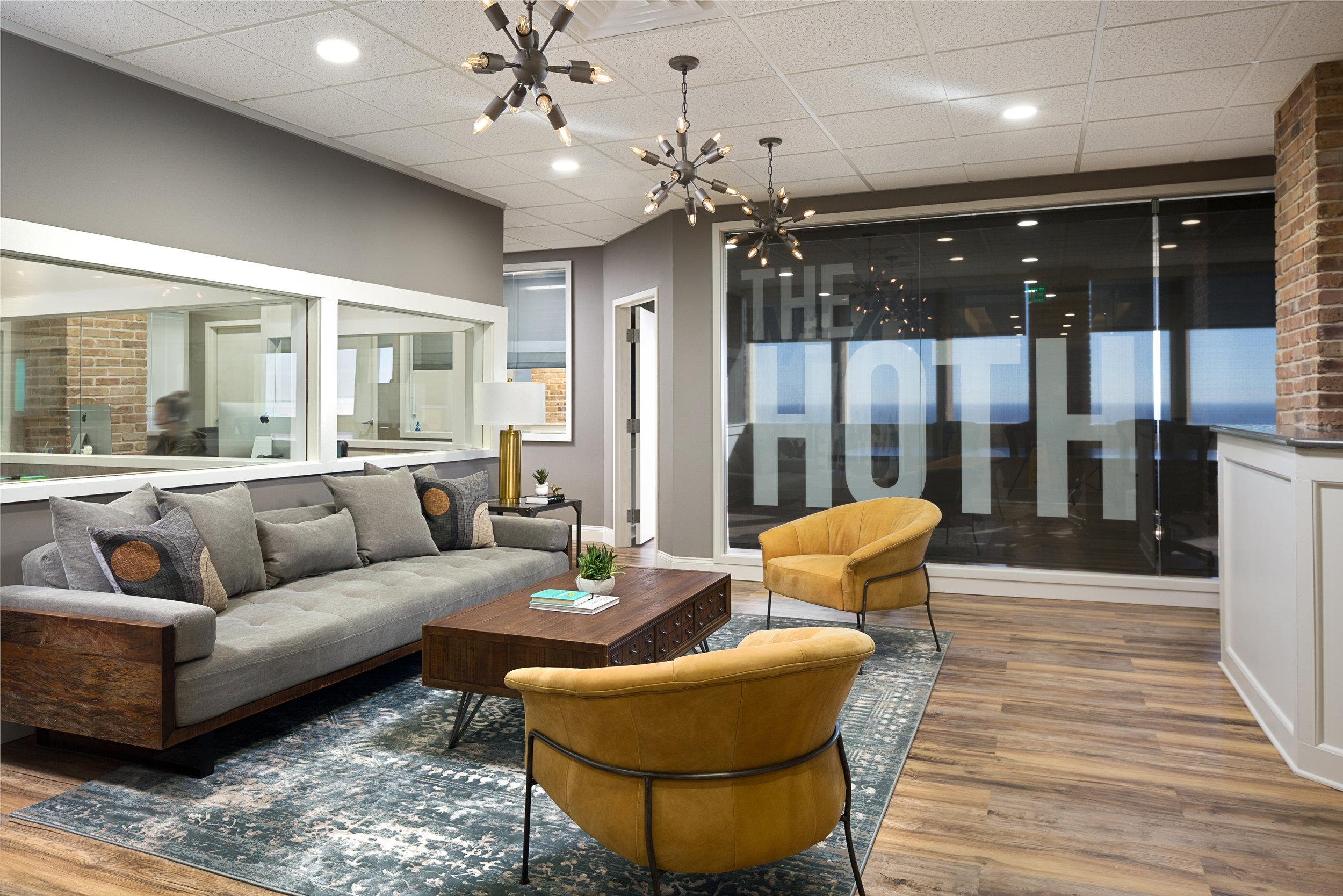 Light tone_faux wood_commercial space_luxury vinyl tile