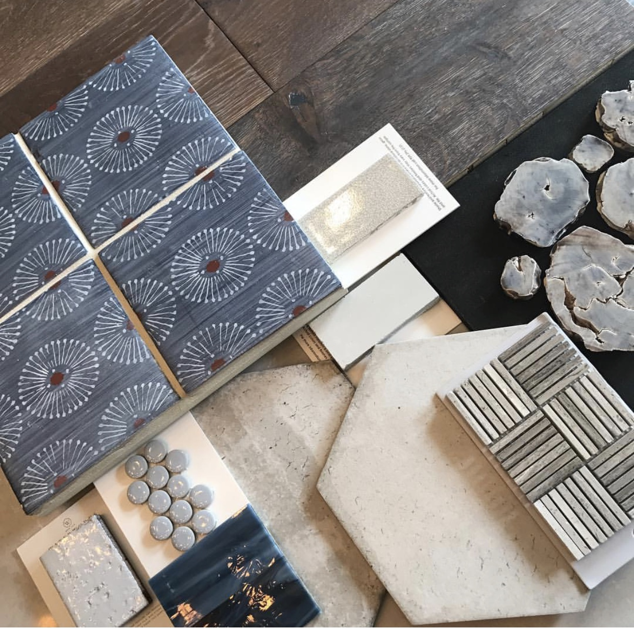 Interior finish selections for a residential property | Lisa Gilmore Design
