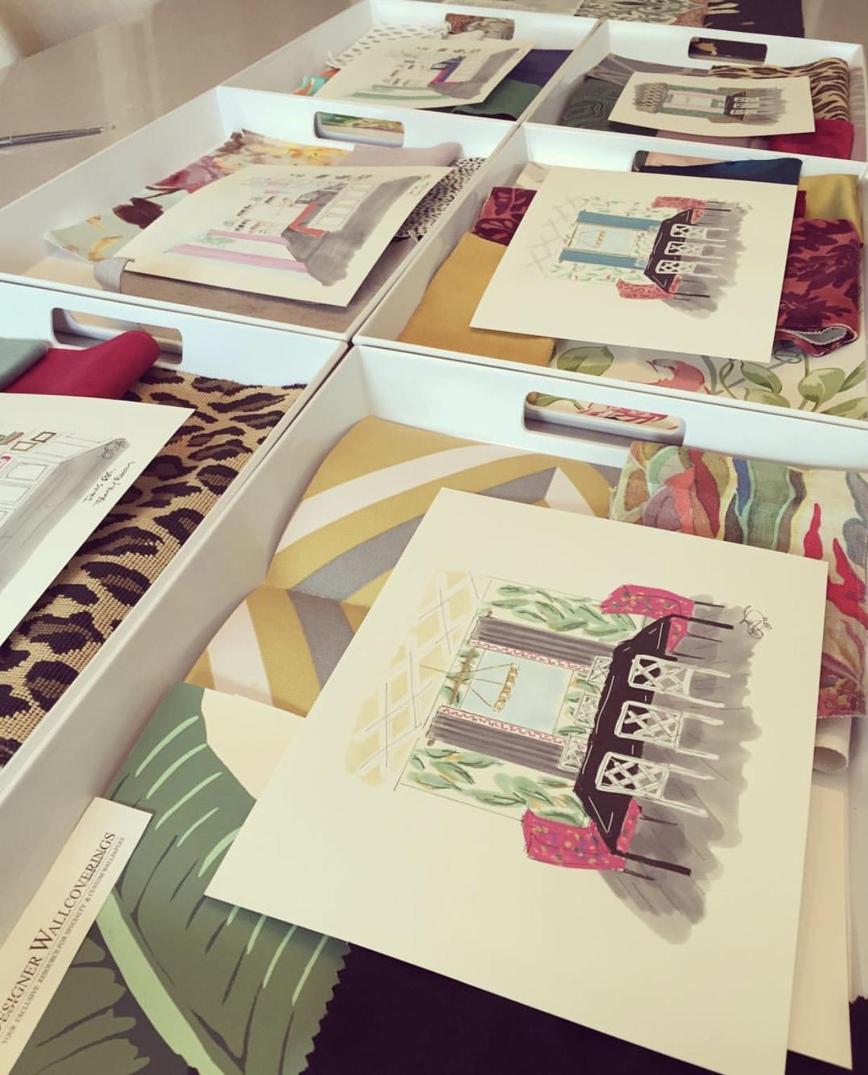 Furnishings Presentation Day | Lisa Gilmore Design