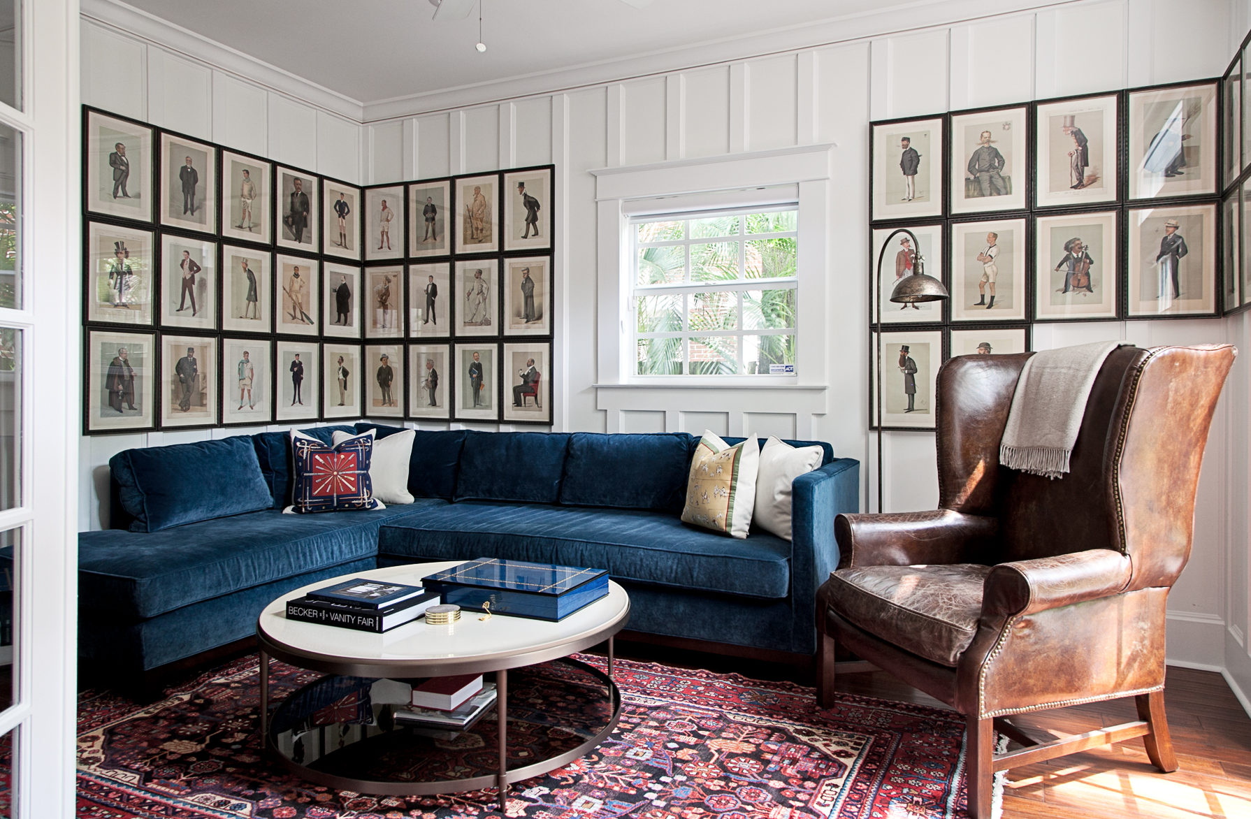 Custom Framing and Installation by ARTicles Art Gallery - designed by Lisa Gilmore Design