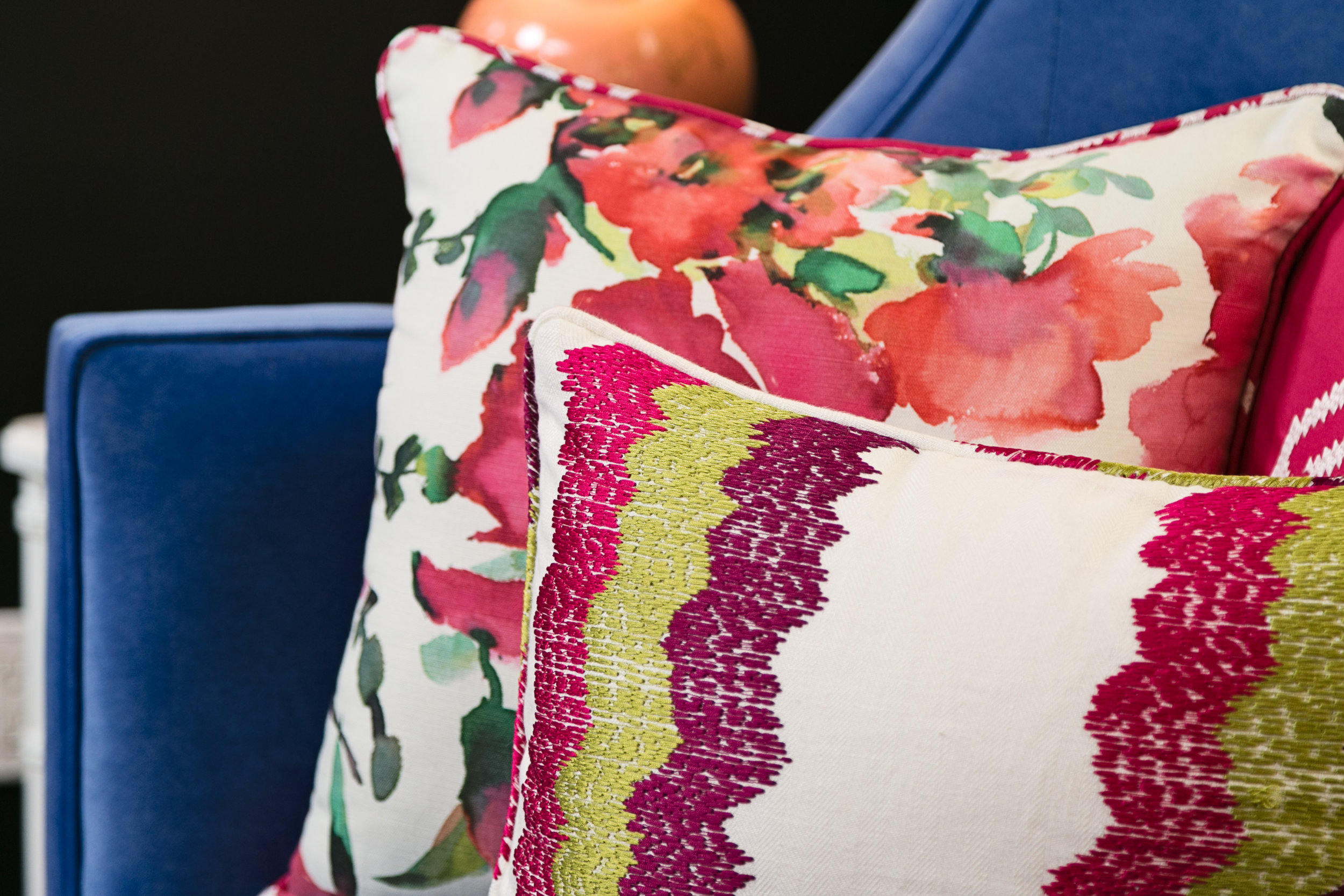 Lisa Gilmore Design Bold, Bright, Chic Project  Photography: Native Photography