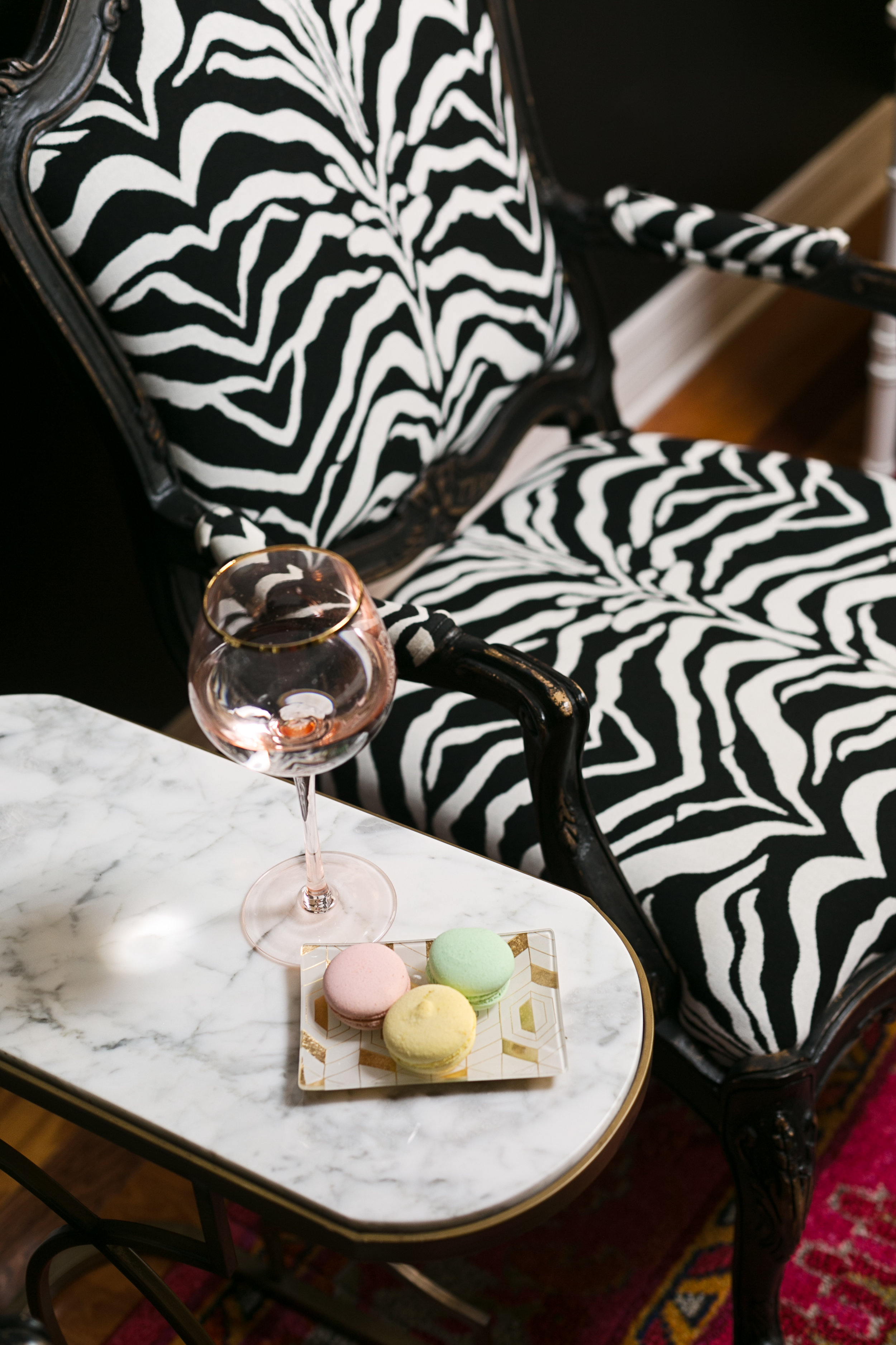 Living Room Vignette by Lisa Gilmore Design