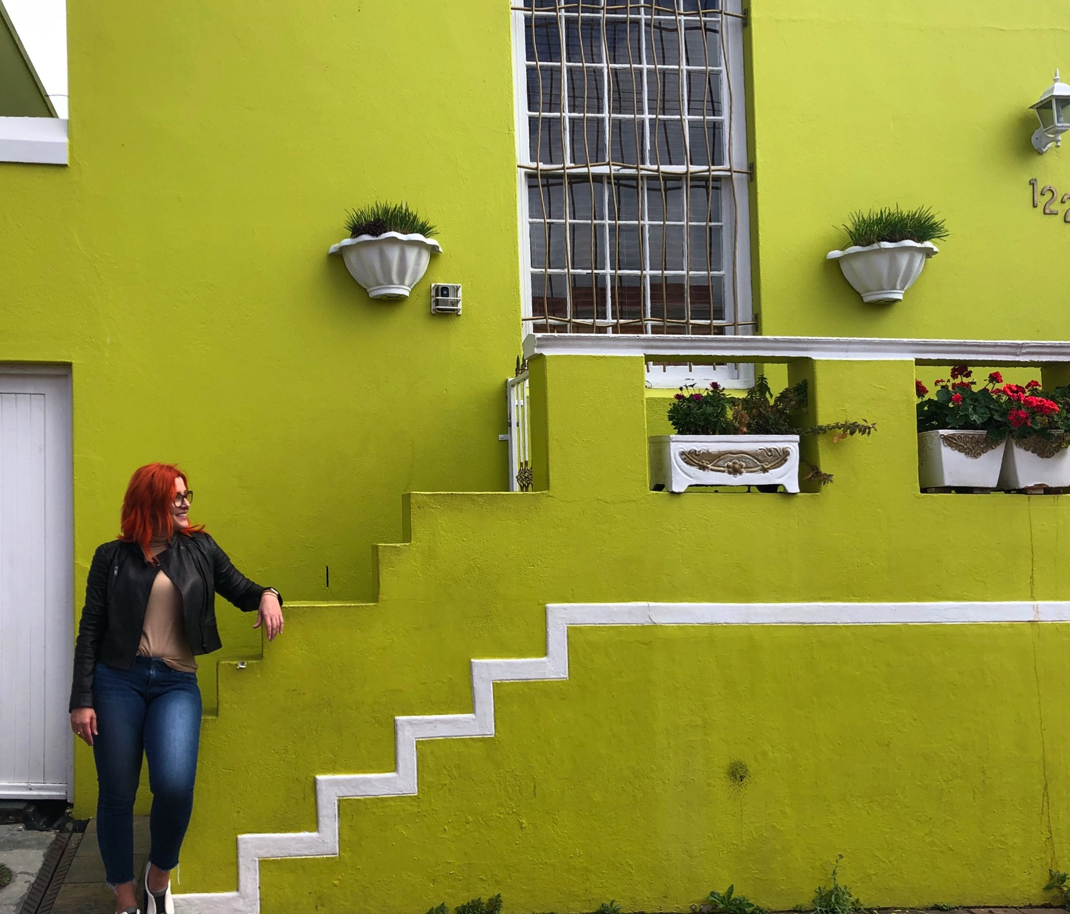 If Lisa were to have a house in Bo-Kaap. It would certainly be the green one!