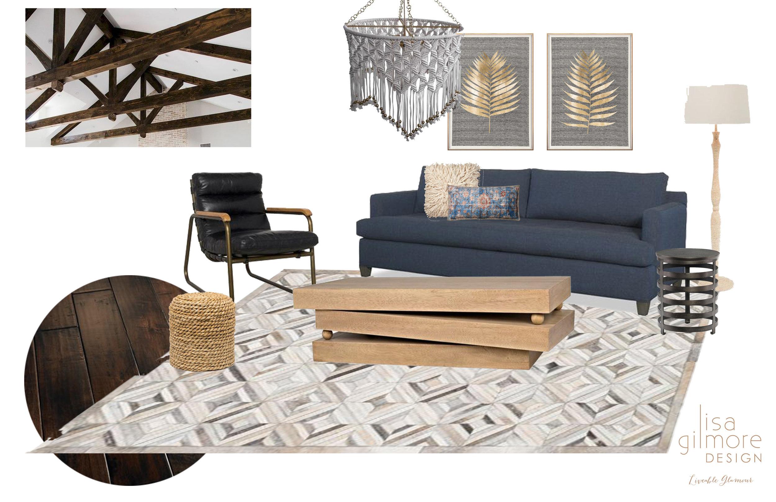 Living Room Design by Lisa Gilmore Design