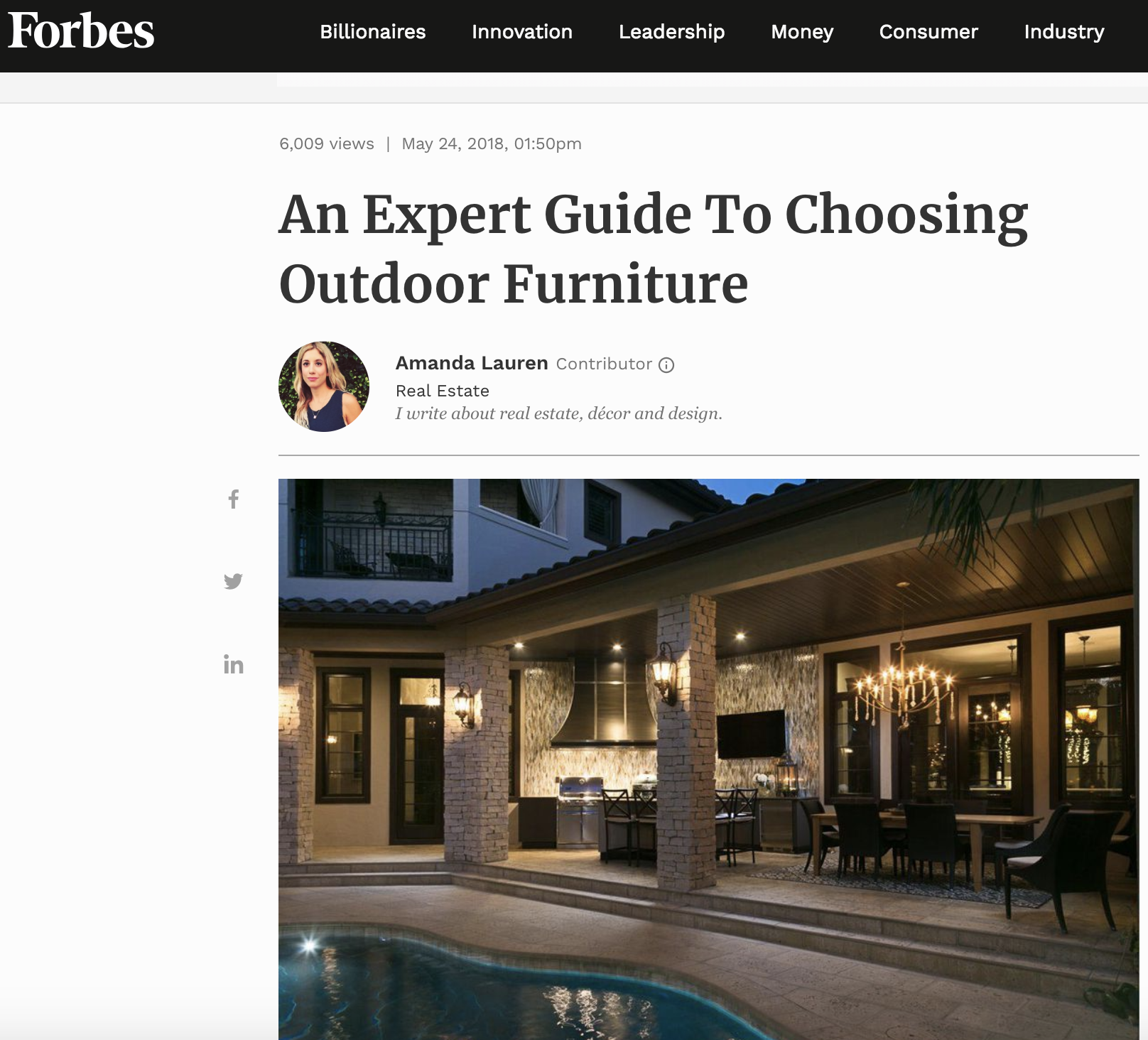 expert guide to outdoor furniture