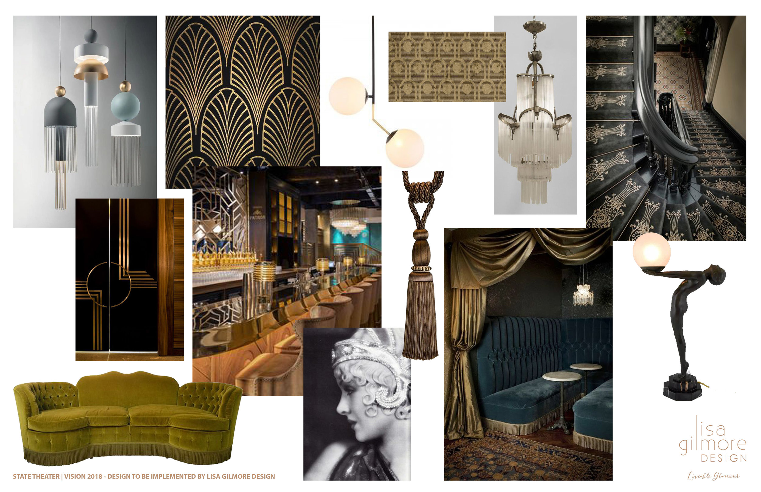 Bringing 1920's glamour back to the historic State Theater, in collaboration with Boyd Construction