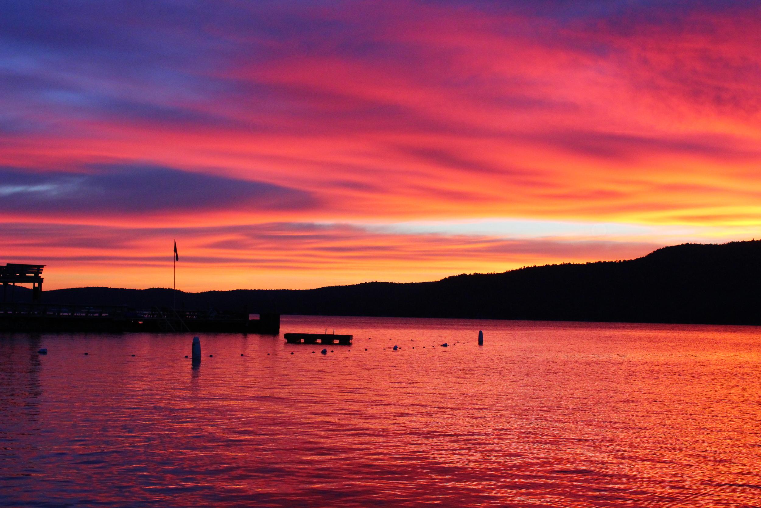 A Silver Bay sunrise!