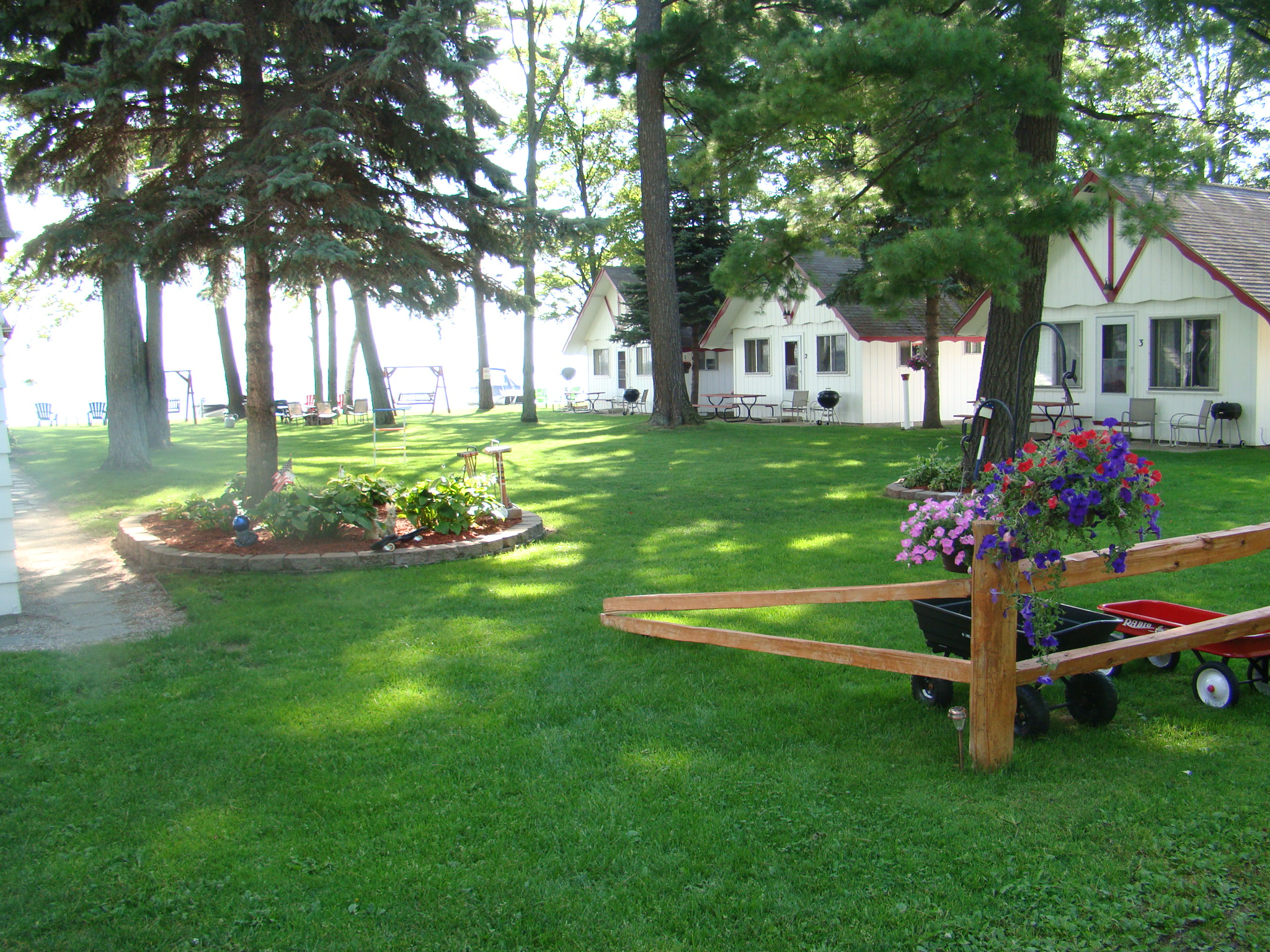 The Crest Resort on the North Shore of Houghton Lake