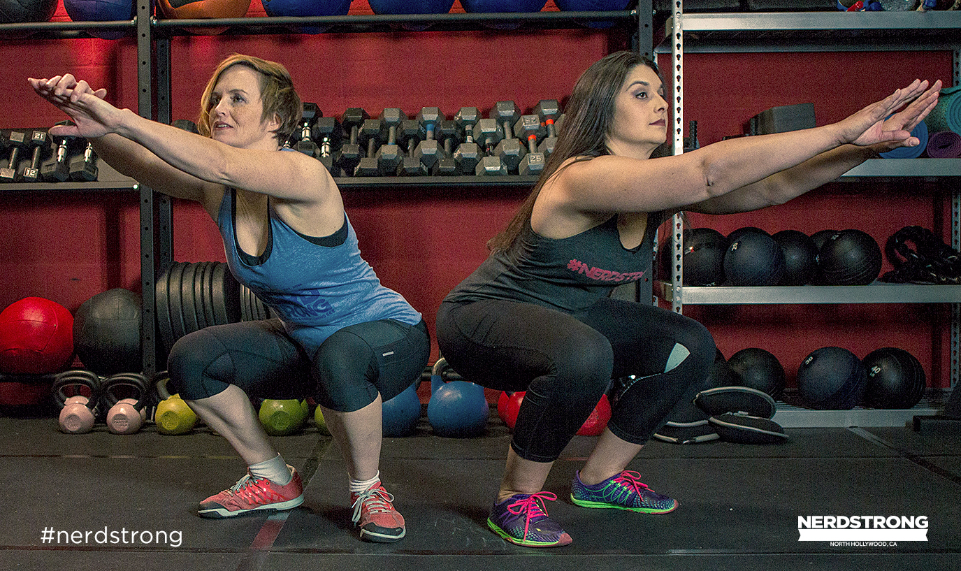 Getting a great squat requires time and effort. Don't worry you'll get it soon enough.