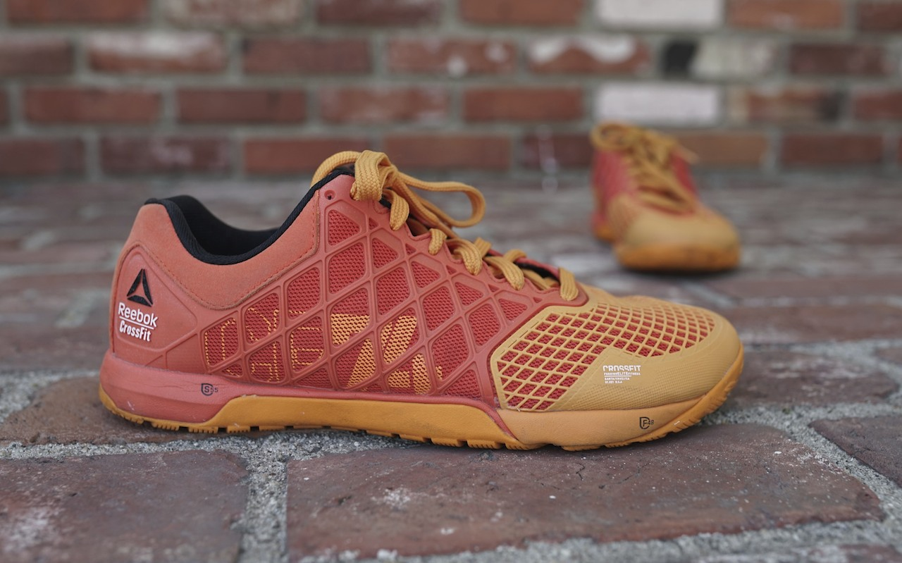 These are a great versatile,light and flat shoe offering support. They help you be ready for anything the coaches throw at you during the workout. Other great workout shoes include Inov8 and Nano 5.
