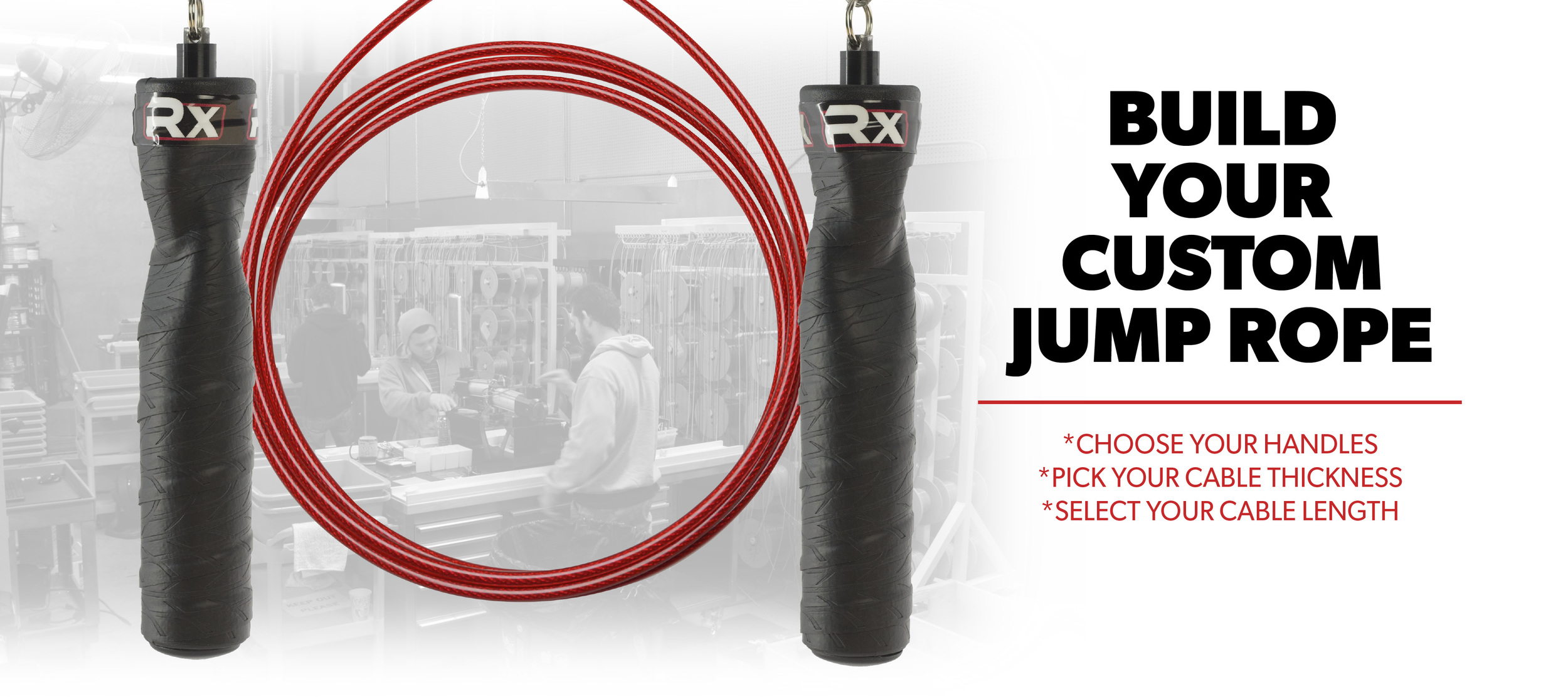 You really need to get a good personal speed rope. Why? Everyone's height is different. Having a rope that is the proper length is vital in minimizing jump rope frustration. These jump ropes are an expensive initial investment, but what I love about Life as RX is that you can customize colors to your taste, they will cut the rope for you when you order it, and as you improve, you can get thinner or replacement rope for only $10.