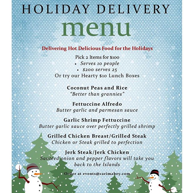 Place your orders now: #carimabey #cateredfood #nycchef #hireme