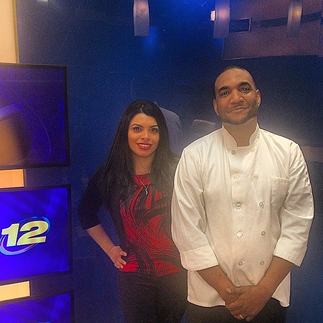 A shout out to @natashageigeltv for giving me an opportunity two years ago at @news12bx. Will always be grateful. Thank you again.  #tbt #carimabey #nycchef