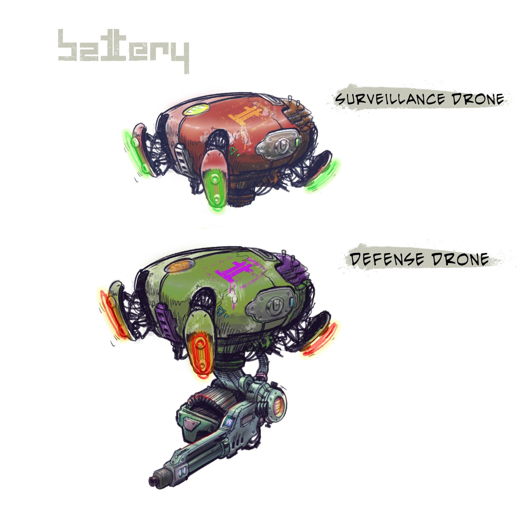 Battery - Drones