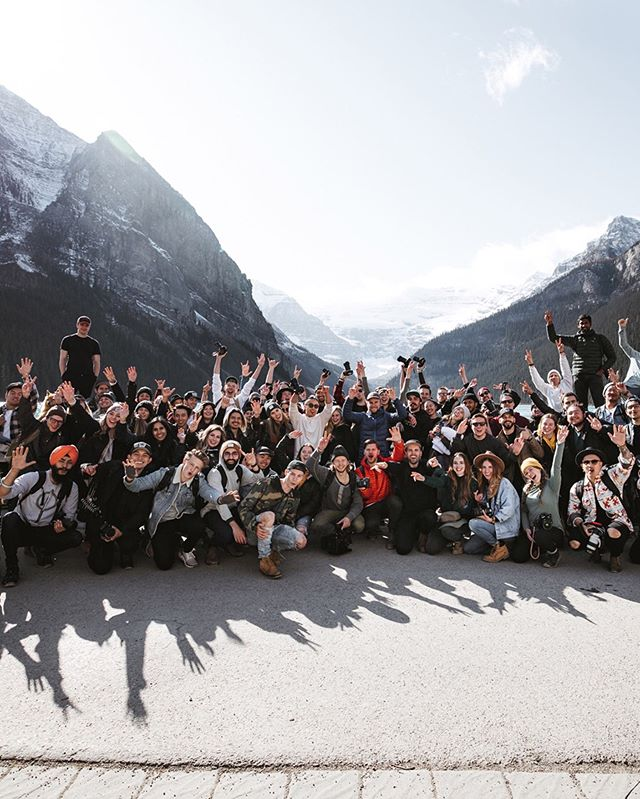 Such an amazing day on Sunday with a great group of creatives from near and far for the @socality x @canoncanada community event at Lake Louise! Great conversations, beautiful views, and a great start to the day in the iconic @fairmontcll. We're excited to continue to see the creative community in Alberta grow and develop! More events are in the works along with a Calgary workshop announcement coming soon!  ______ Images captured by @mrdanielhan #Socality #CanonCreatorLab