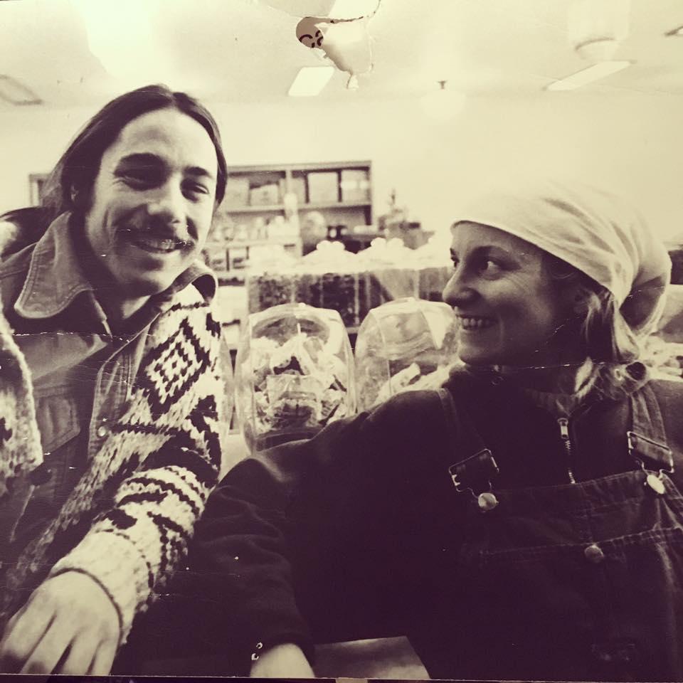 Rob and Pumpkin Auerbach, 1980