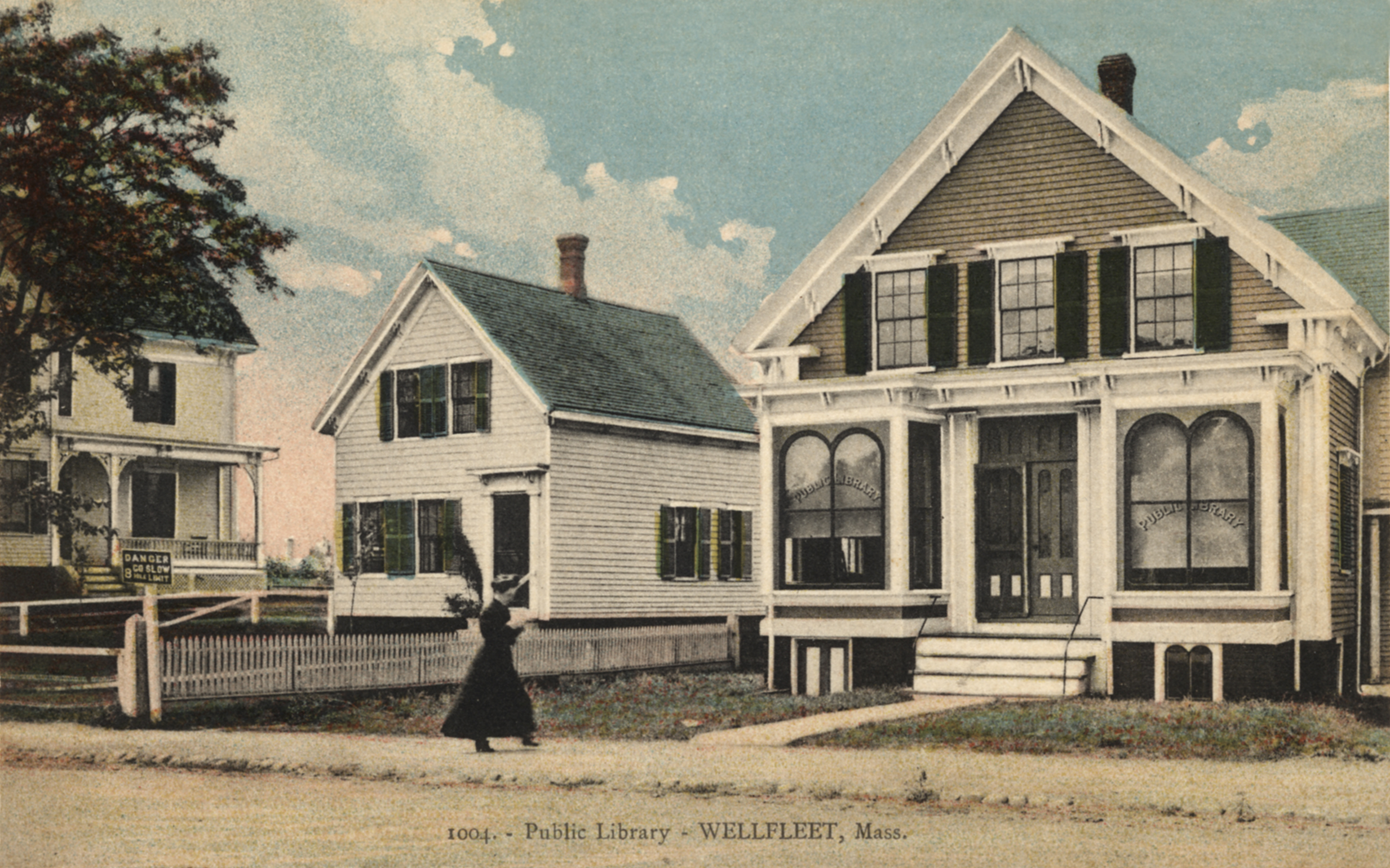 The Historical Society building at the turn of the last century.