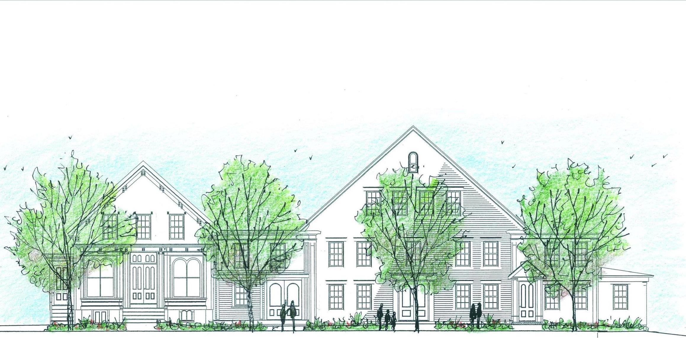 Conceptual site plan, Martha Lyon Landscape Architecture, LLC, 2015