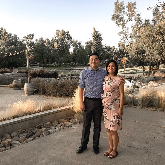 Gorgeous environment AND we're in nice attire?? Let's get this photo taken 😆@bcko and I at Stanley and Alethia's wedding!