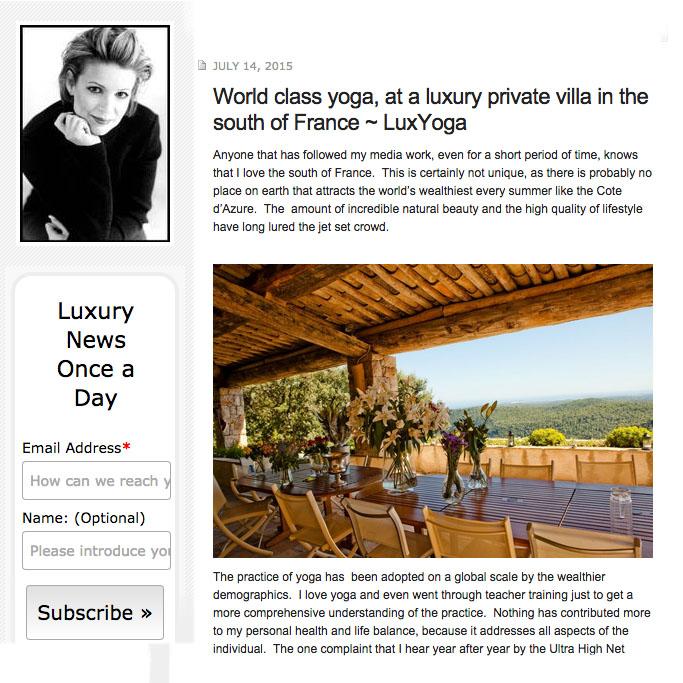 """""""The Luxury Guru"""""""