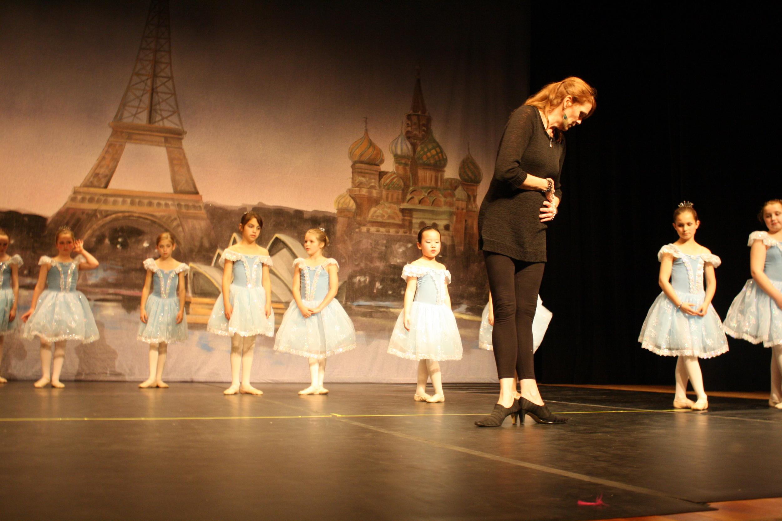 Miss Grace at Dress Rehearsal