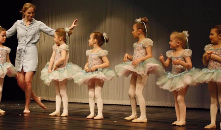 Miss Tori and her beautiful ballerinas