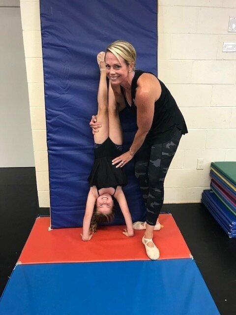 Kids flip for Miss Lauren