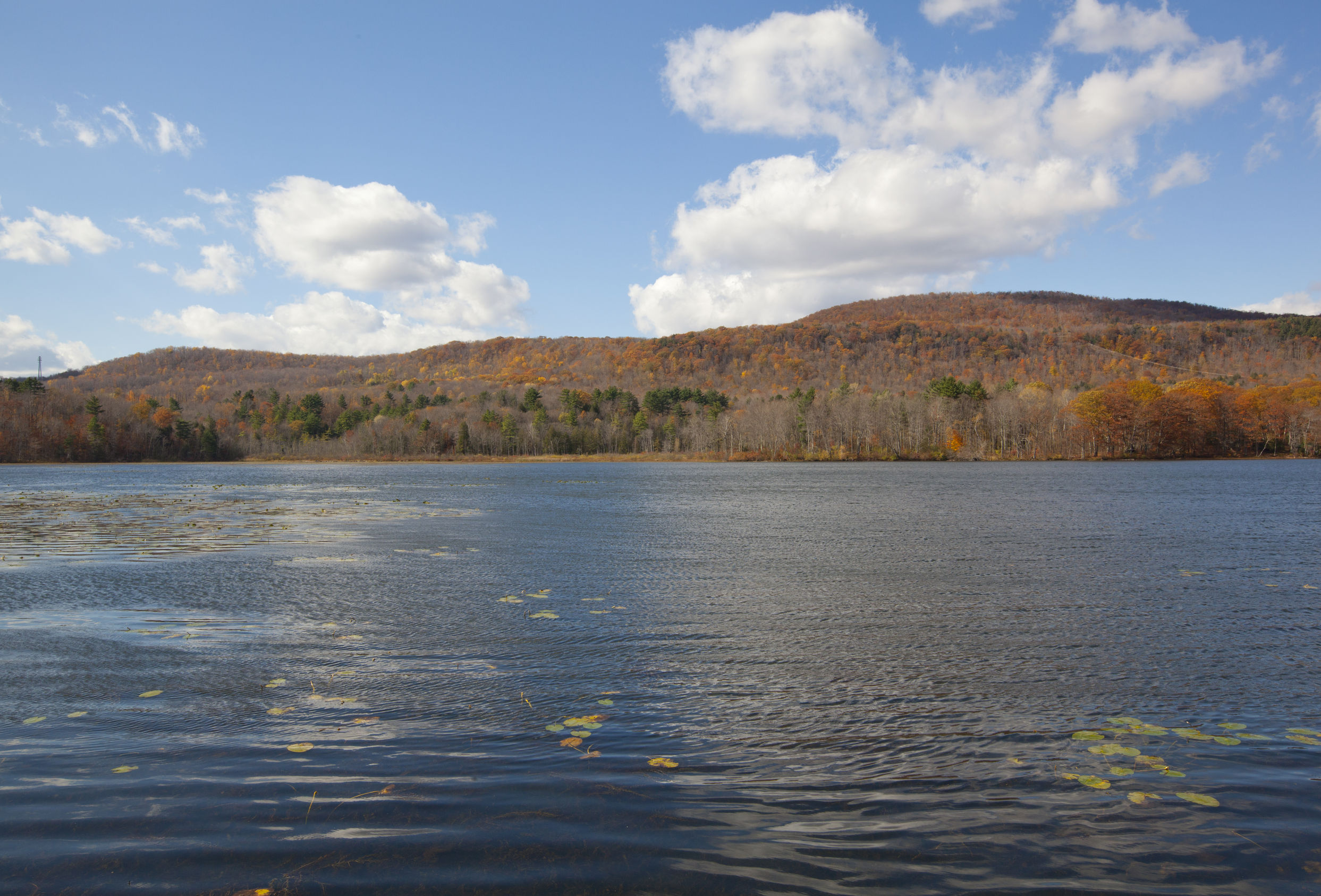 Beautiful Goose Pond in the Berkshires, Becket Massachusetts