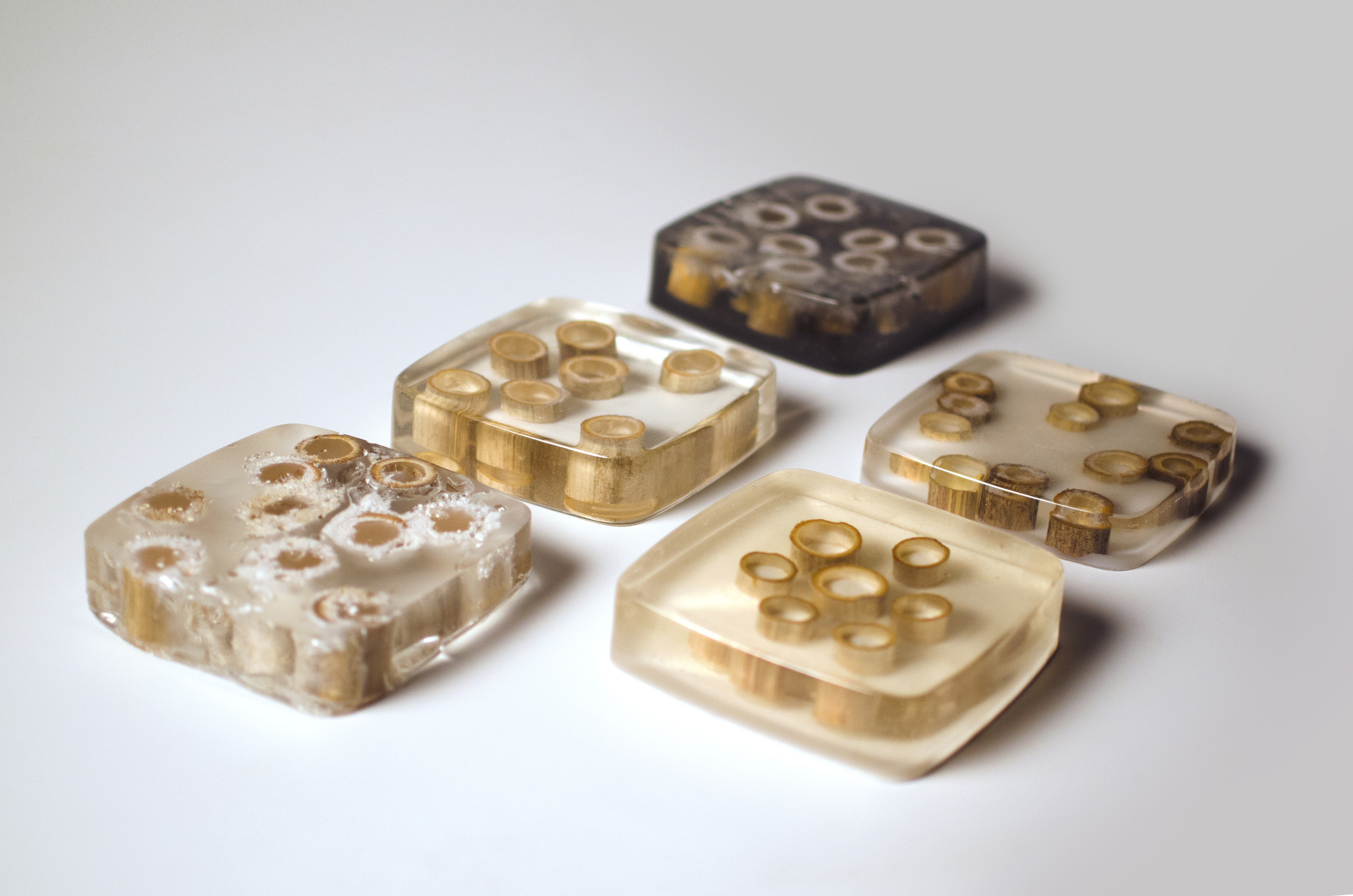 Resin material tests
