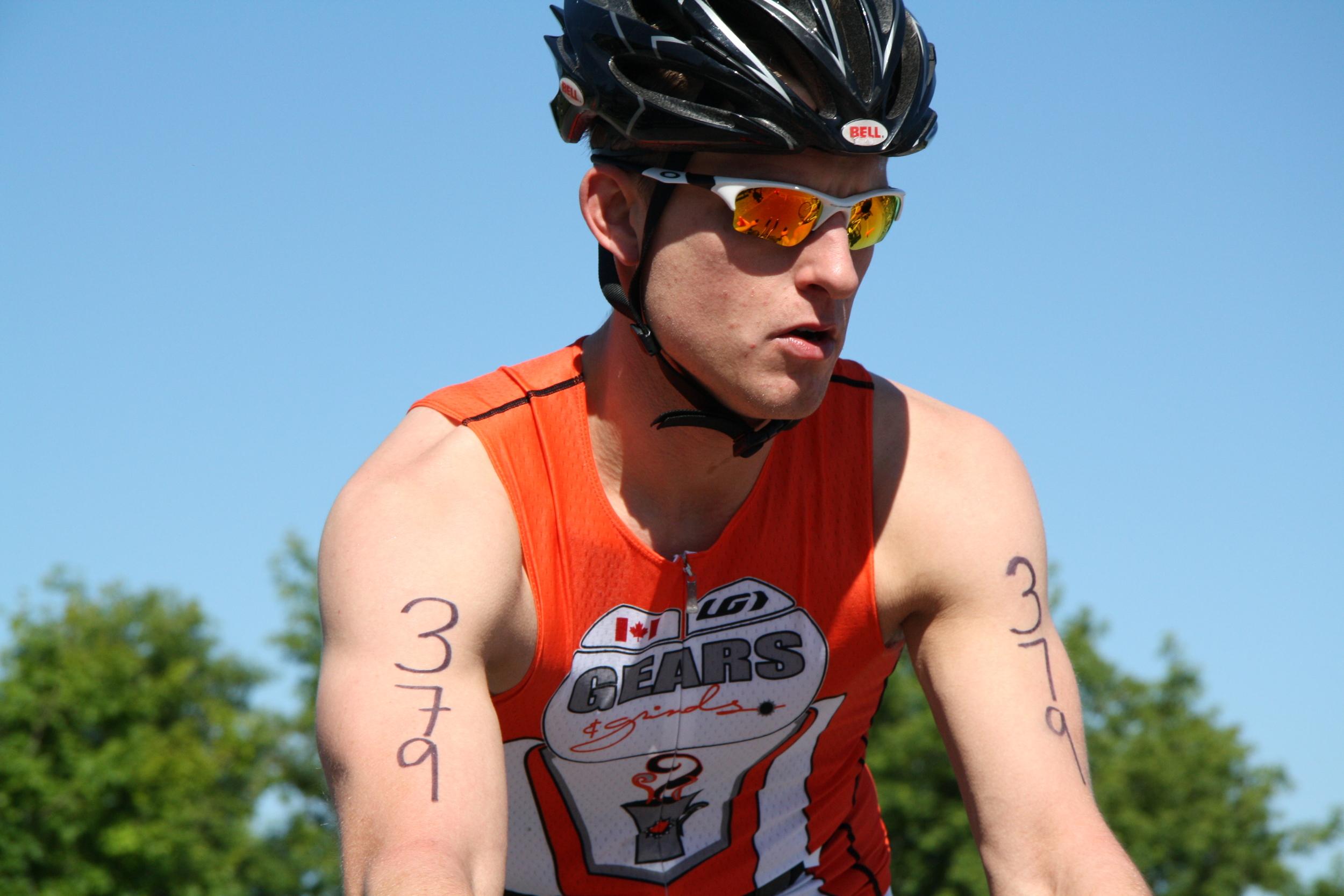 Ben Racing Sydenham Triathlon