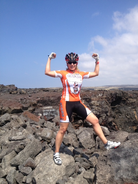Brenda Flexing her Gears & Grinds Muscles in Hawaii