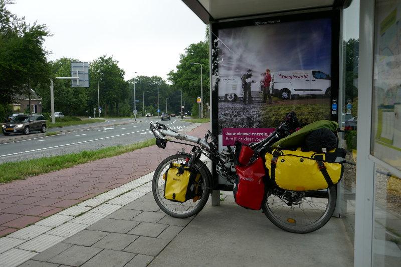 Das Optima Orca bei einer kleinen Pause auf dem Weg nach Amsterdam