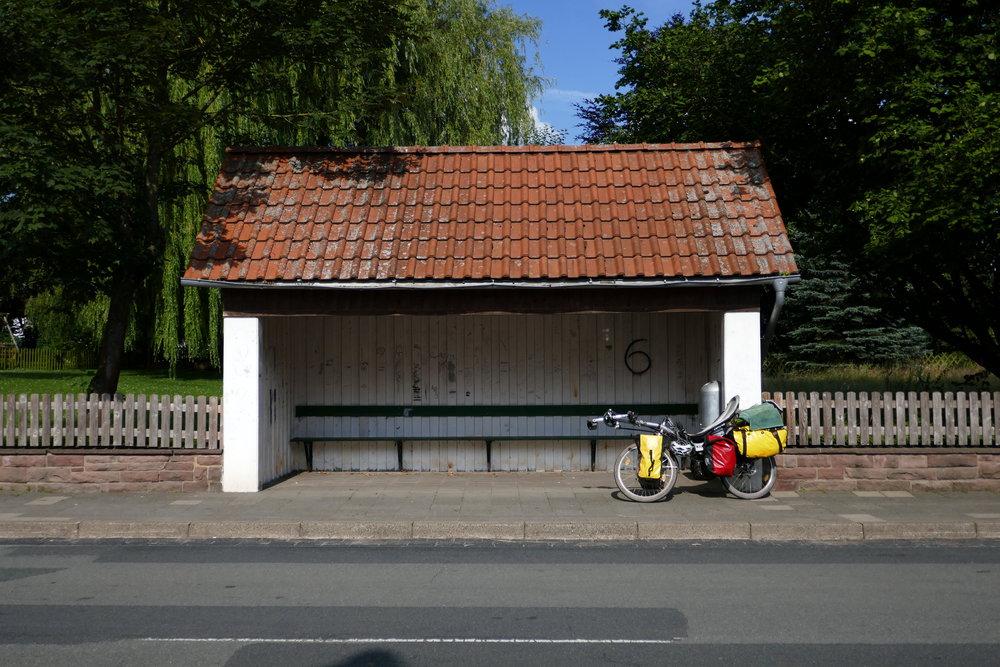 Badenhausens schönste Bushaltestelle