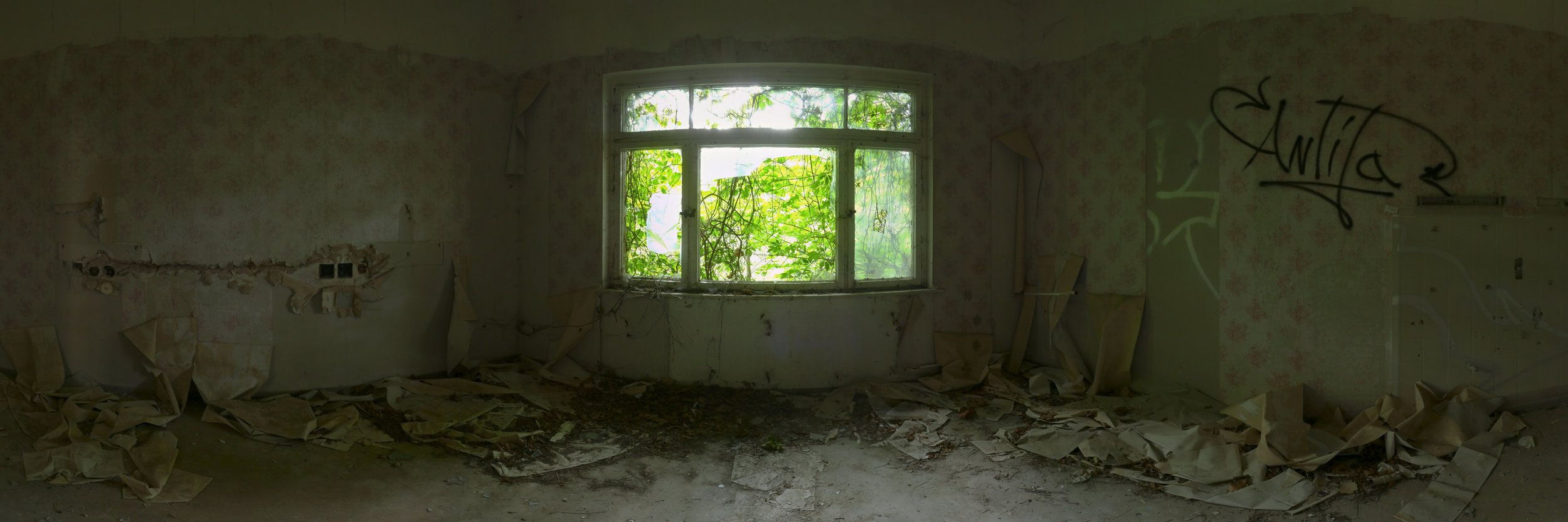 grünes Patientenzimmer