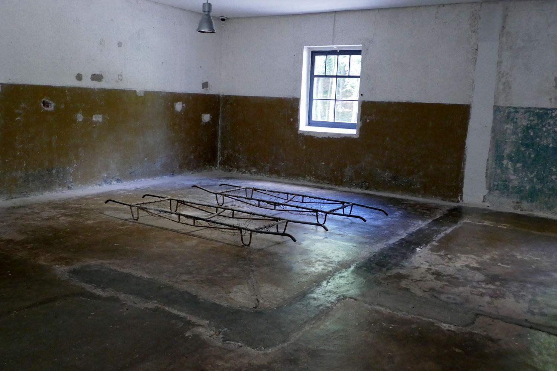 Tragen zur Beschickung der Verbrennungsöfen