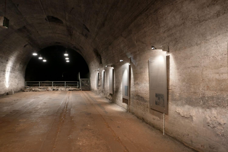 Eingangsbereich des Tunnelsystems