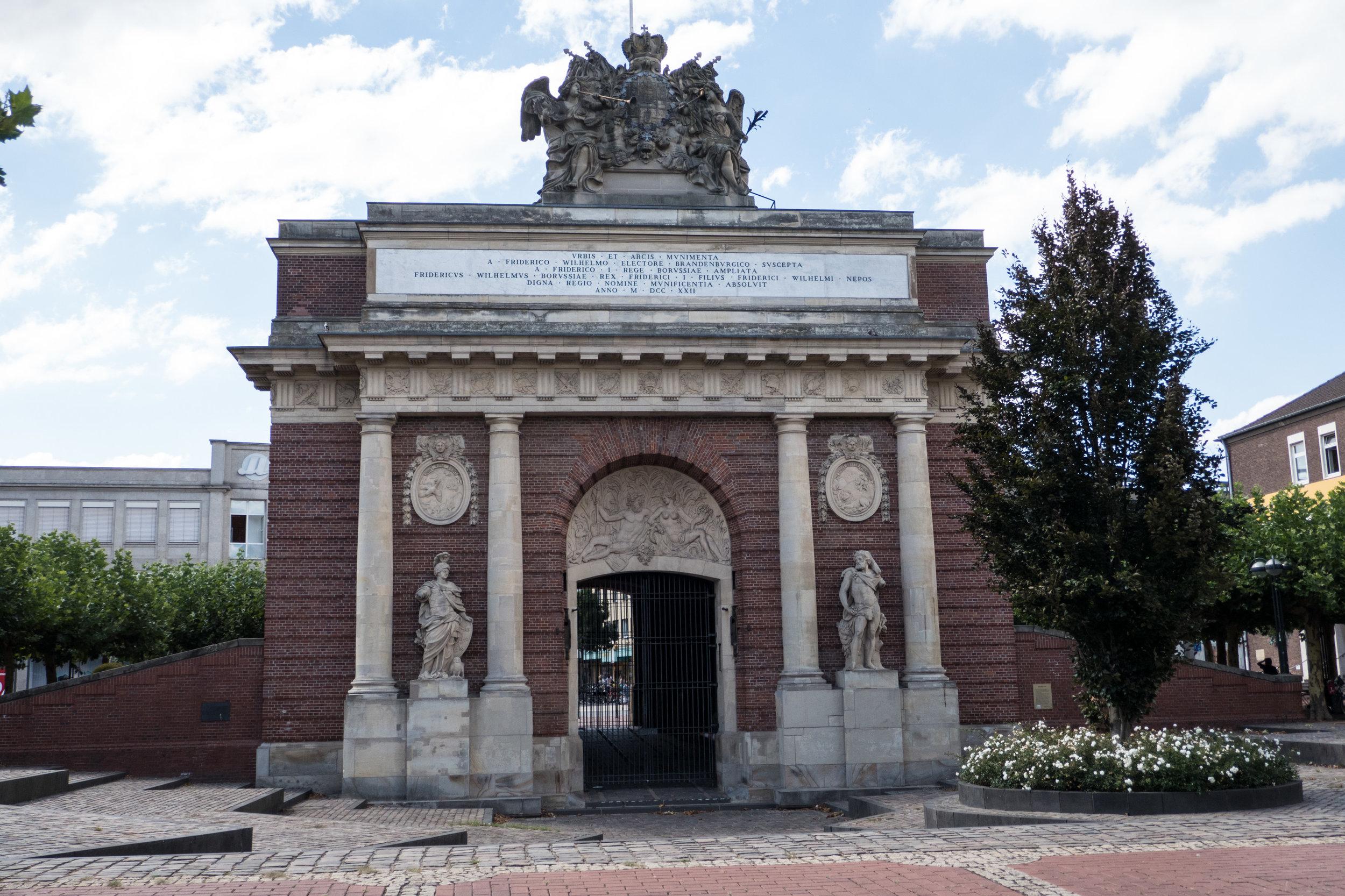Das Berliner Tor in Wesel