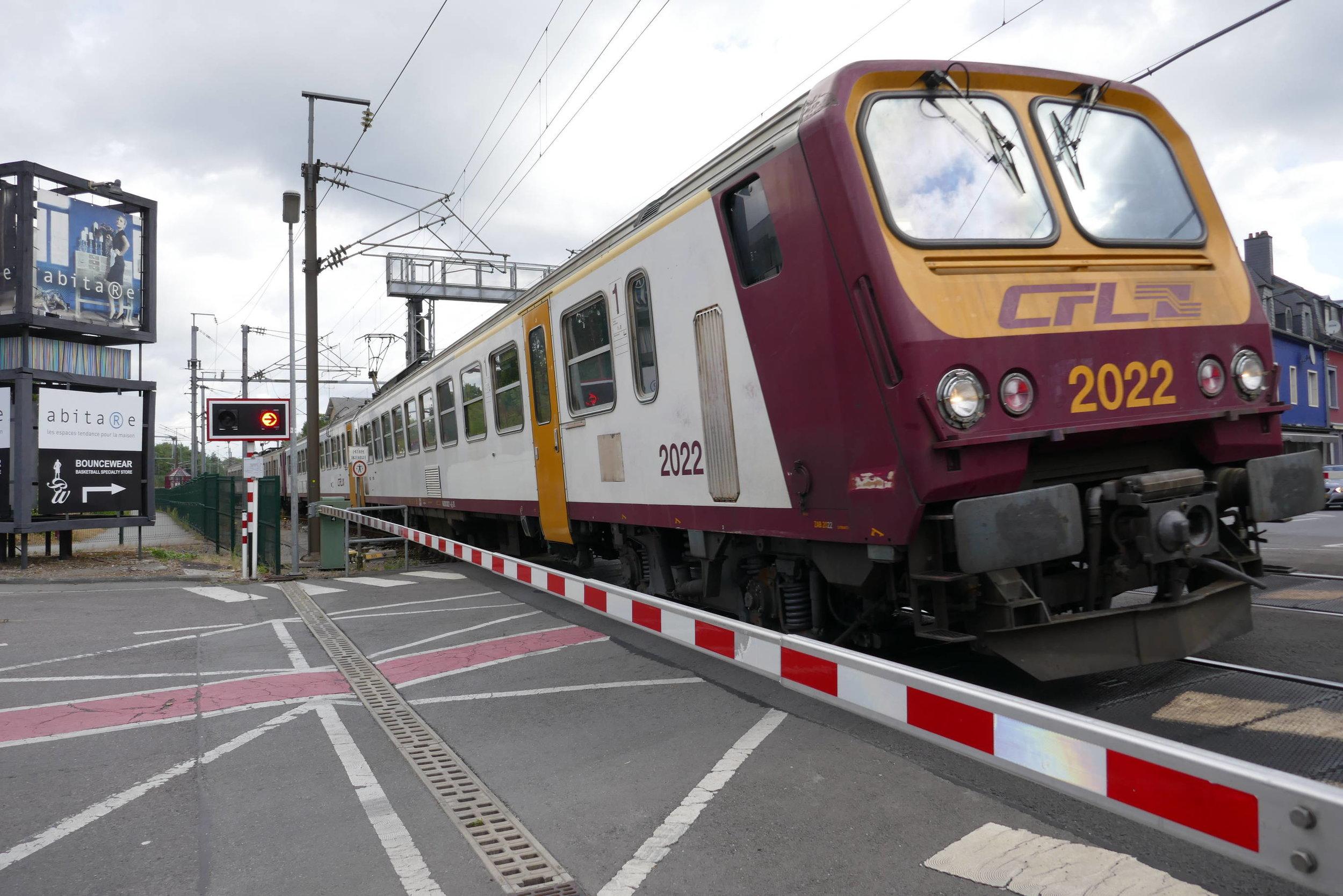 die Bahn - das dominante Verkehrsmittel Luxemburgs...