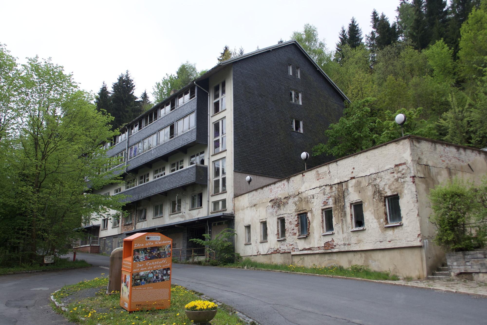 Das Erholungsheim Altin in Lauscha