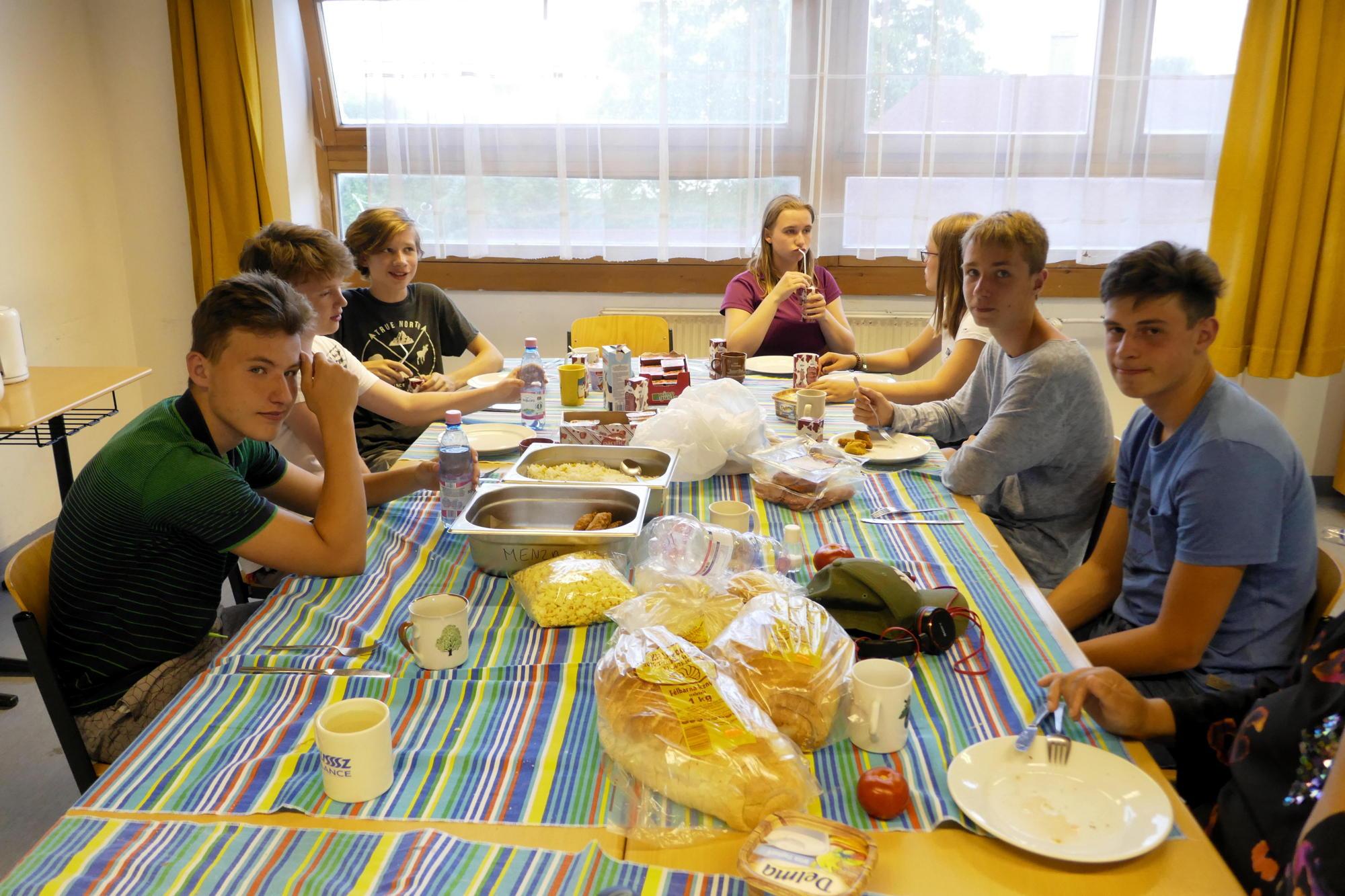 Die Schnitzel, der Reis, die Brote, Müsli-Bärchen und alle Anderen…