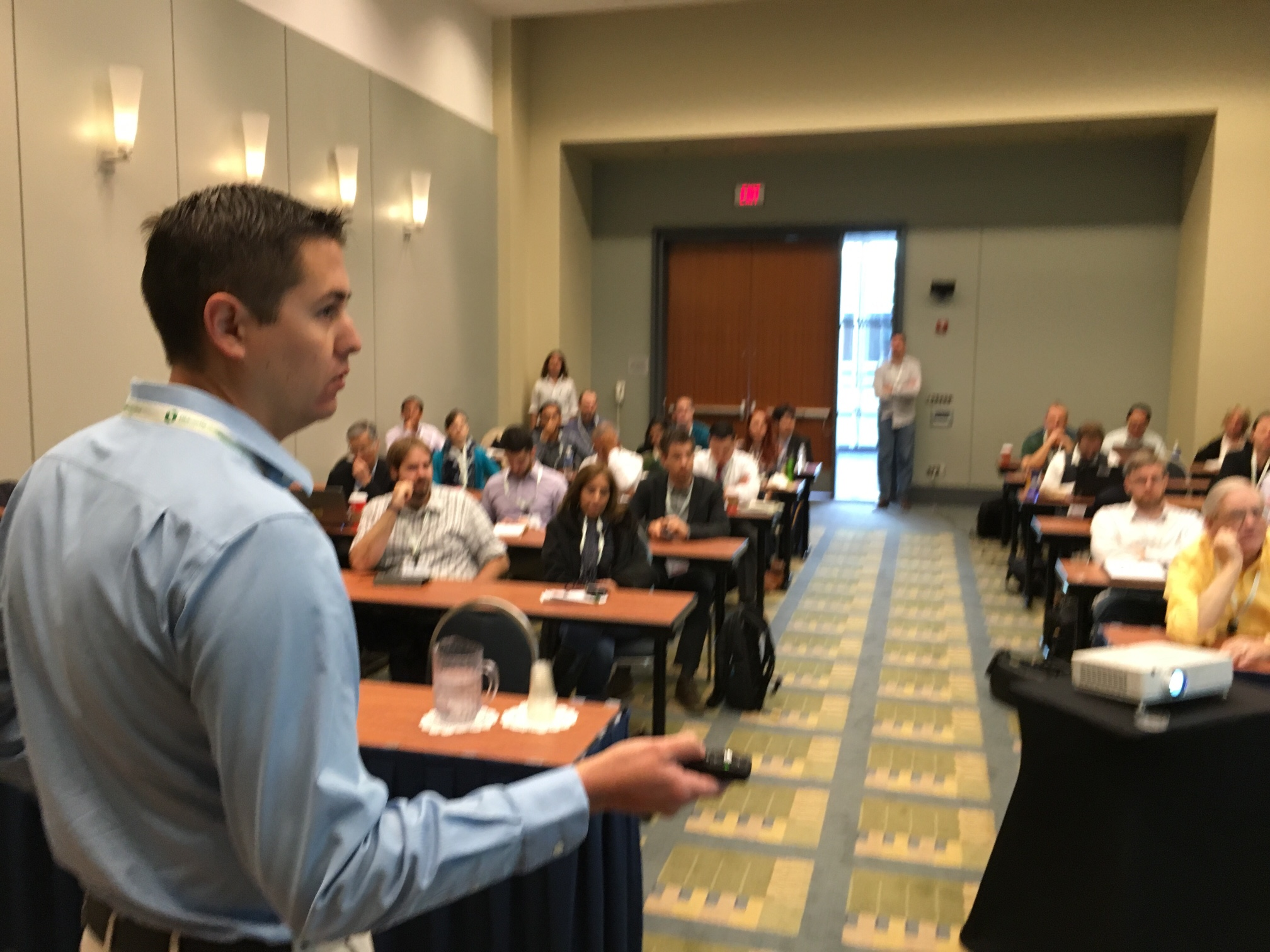TGE's Anthony Hardman leads our Successful Energy Modeling for LEED Workshop at Greenbuild.
